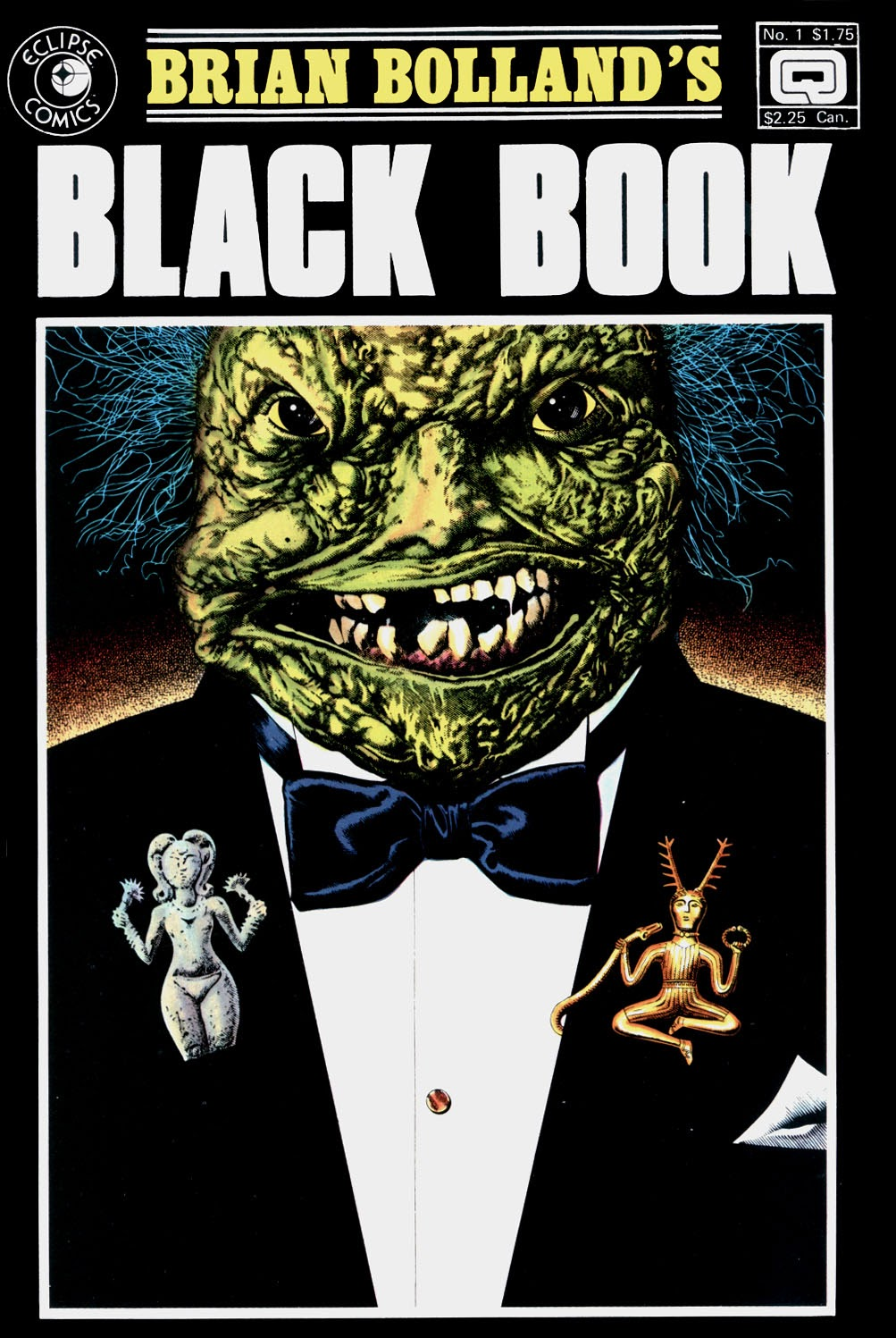 Brian Bolland's Black Book issue Full - Page 1