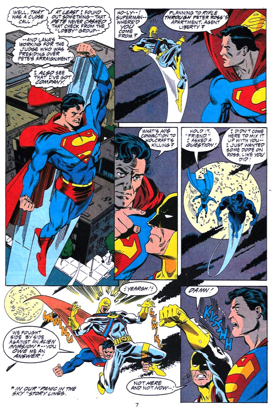 Read online Adventures of Superman (1987) comic -  Issue #492 - 8