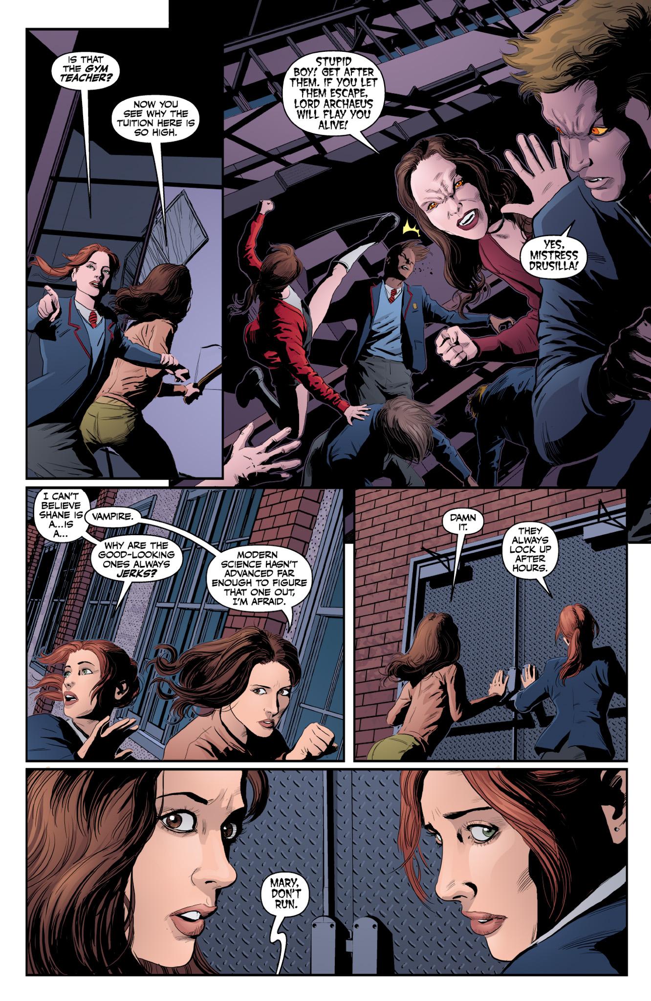 Read online Angel & Faith Season 10 comic -  Issue #18 - 10