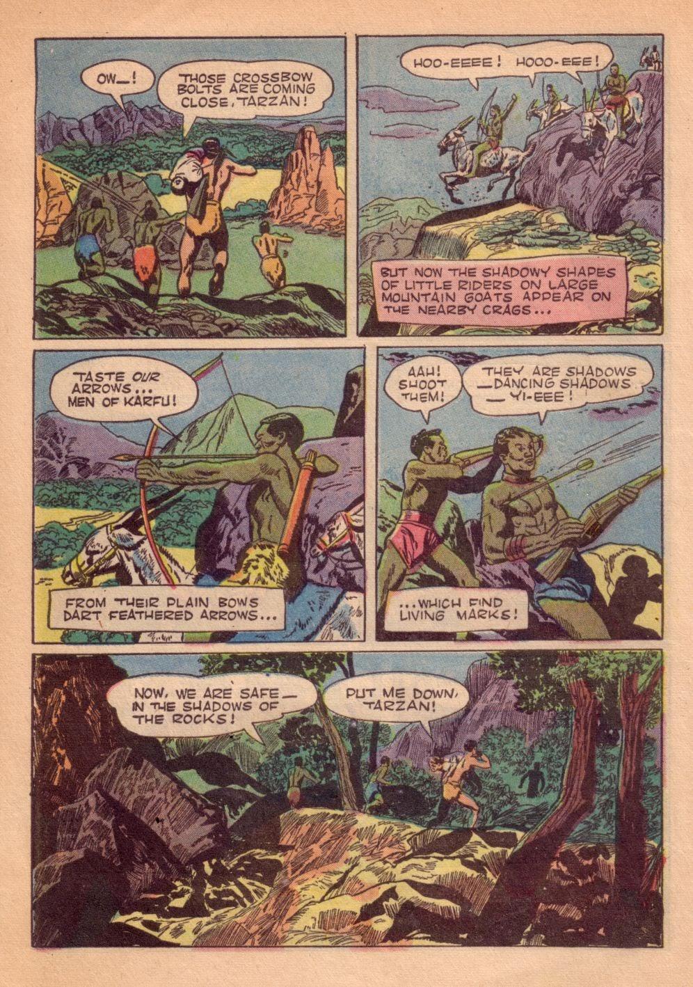 Tarzan (1948) issue 55 - Page 16