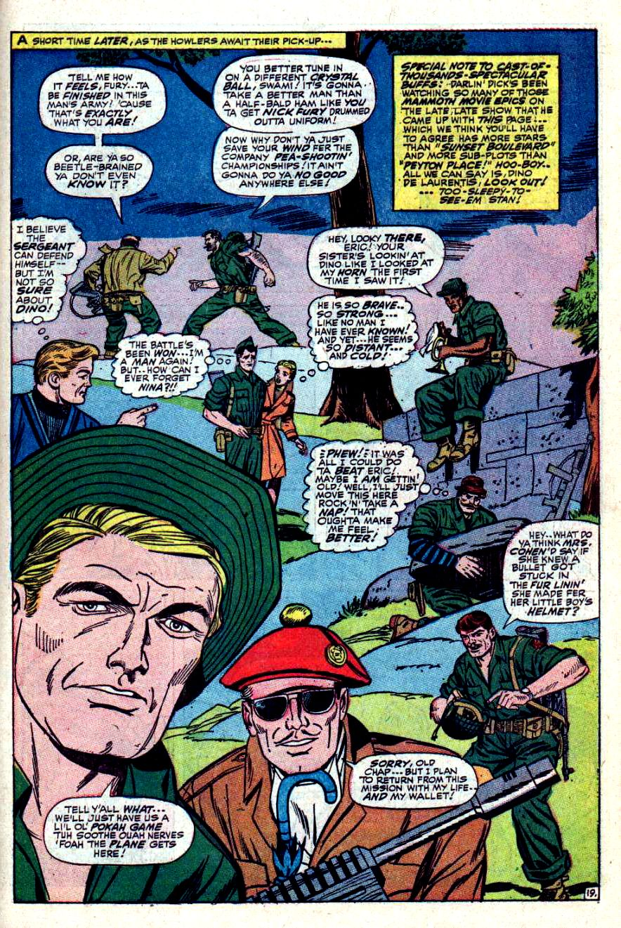Read online Sgt. Fury comic -  Issue #42 - 27