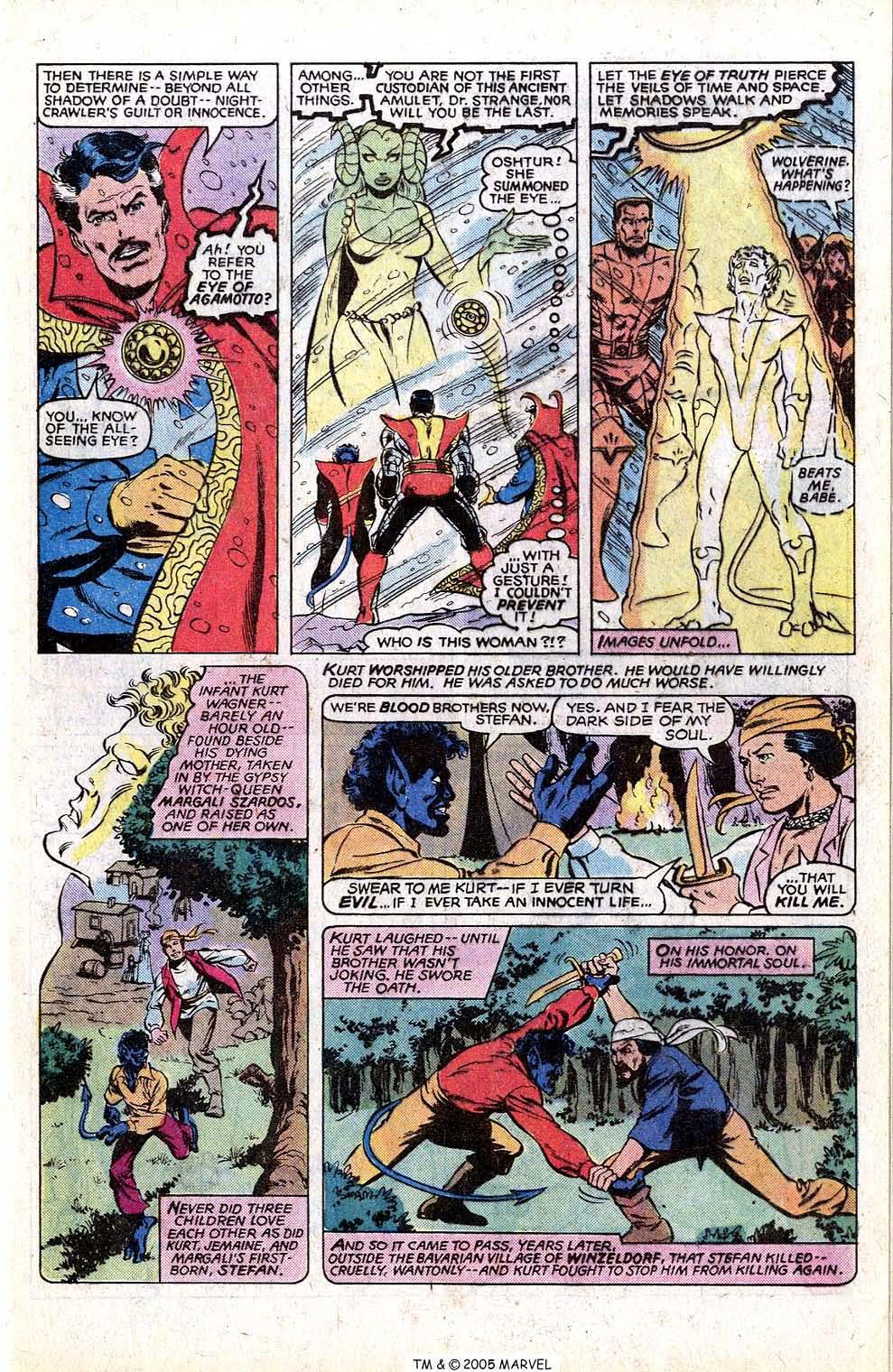 Read online Uncanny X-Men (1963) comic -  Issue # _Annual 4 - 45