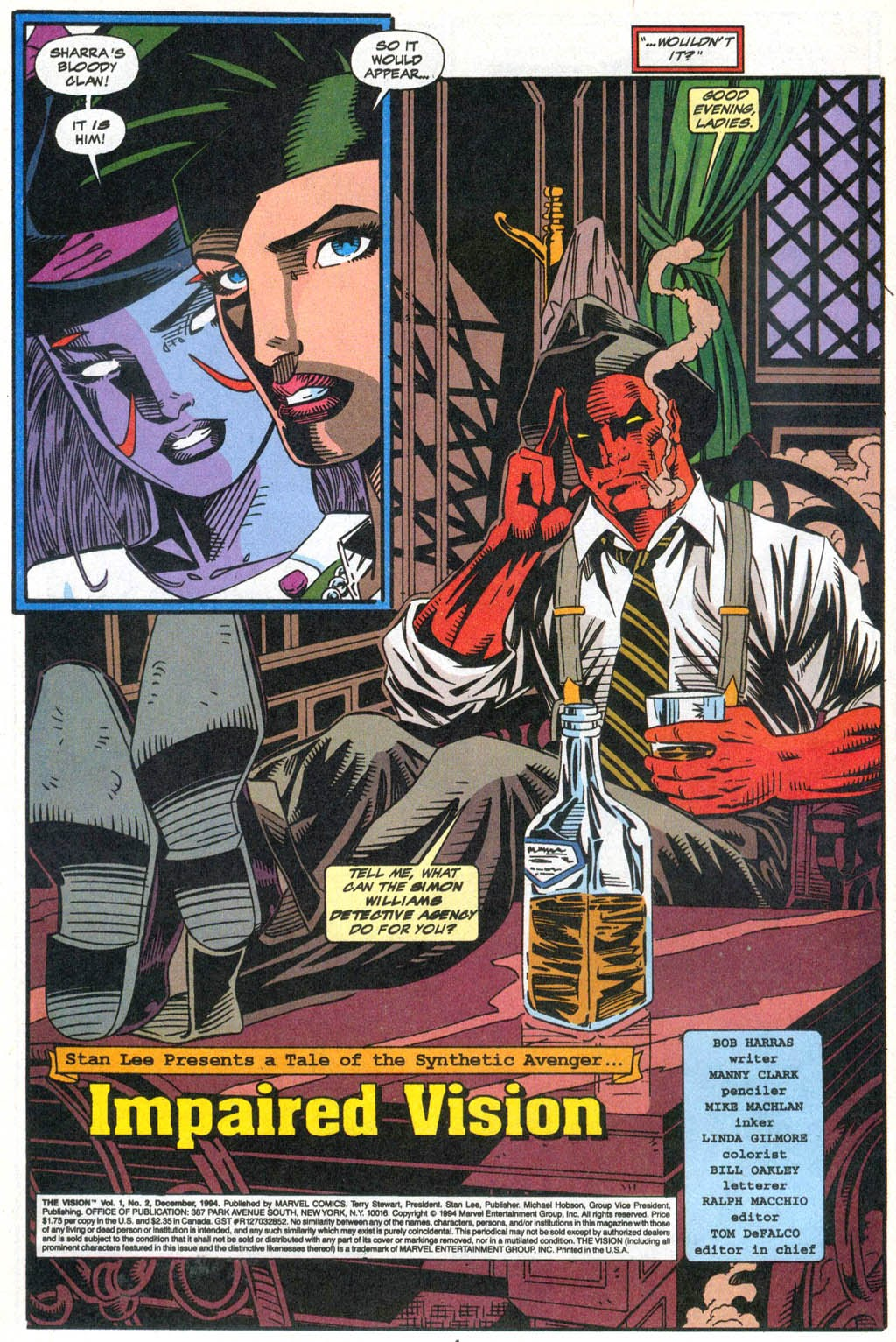 Read online The Vision comic -  Issue #2 - 5