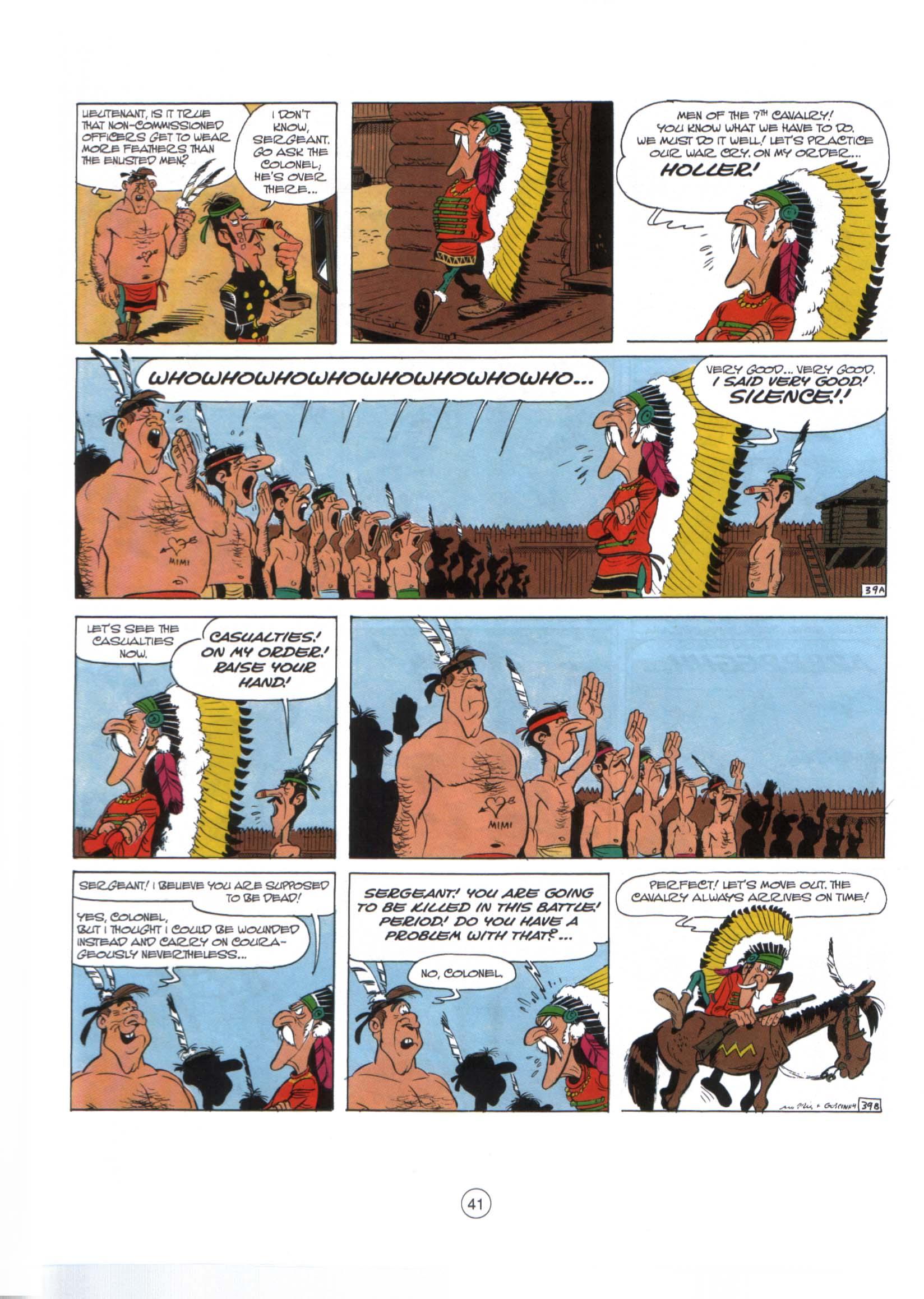 Read online A Lucky Luke Adventure comic -  Issue #29 - 40