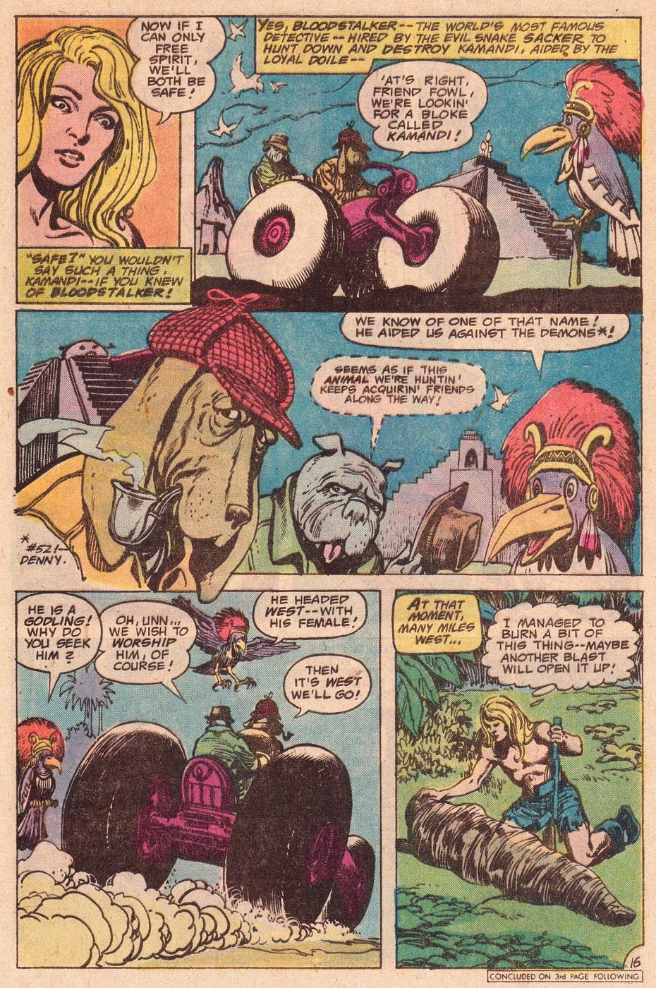 Kamandi, The Last Boy On Earth issue 54 - Page 18
