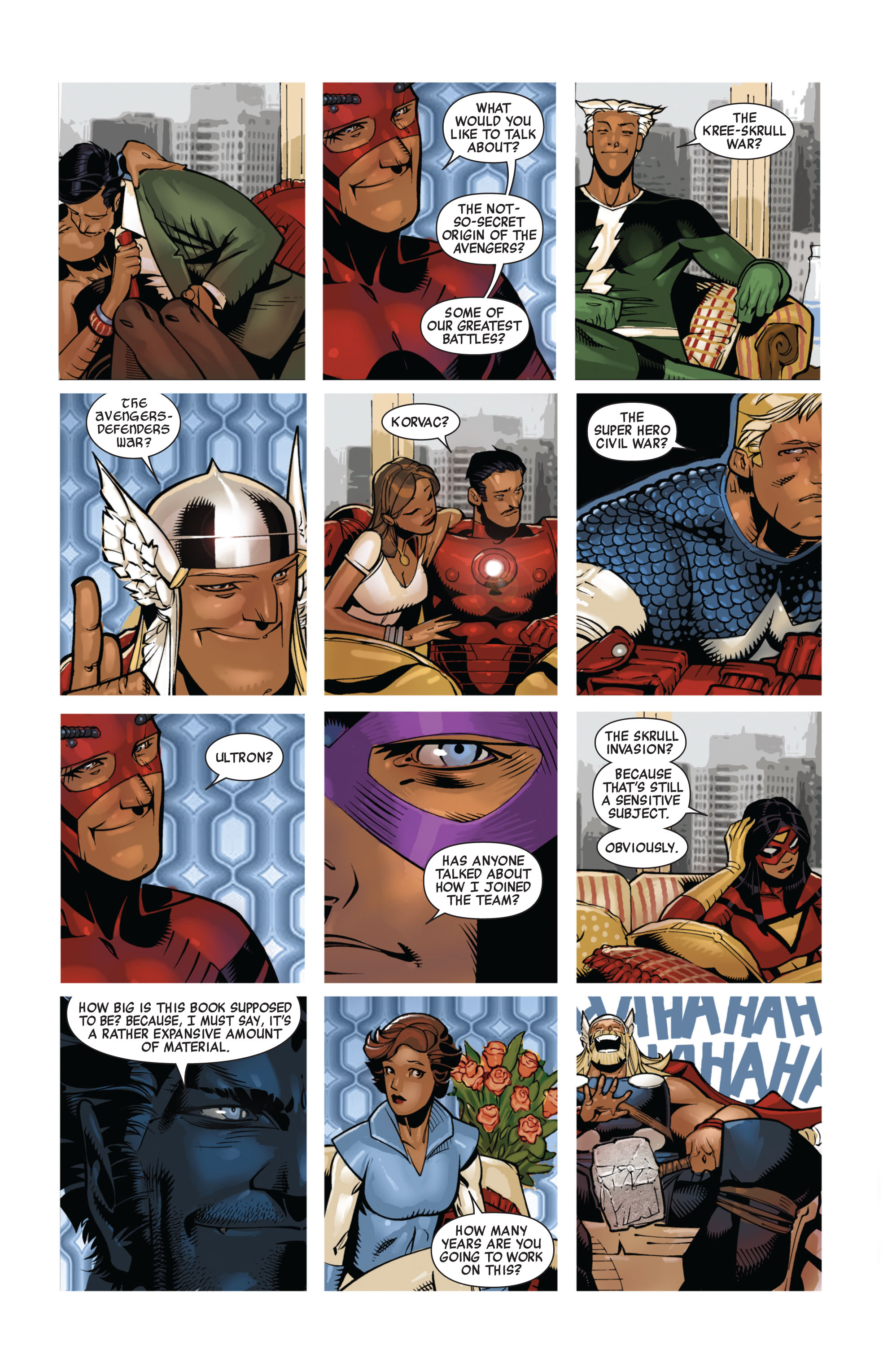 Read online Avengers (2010) comic -  Issue #13 - 4