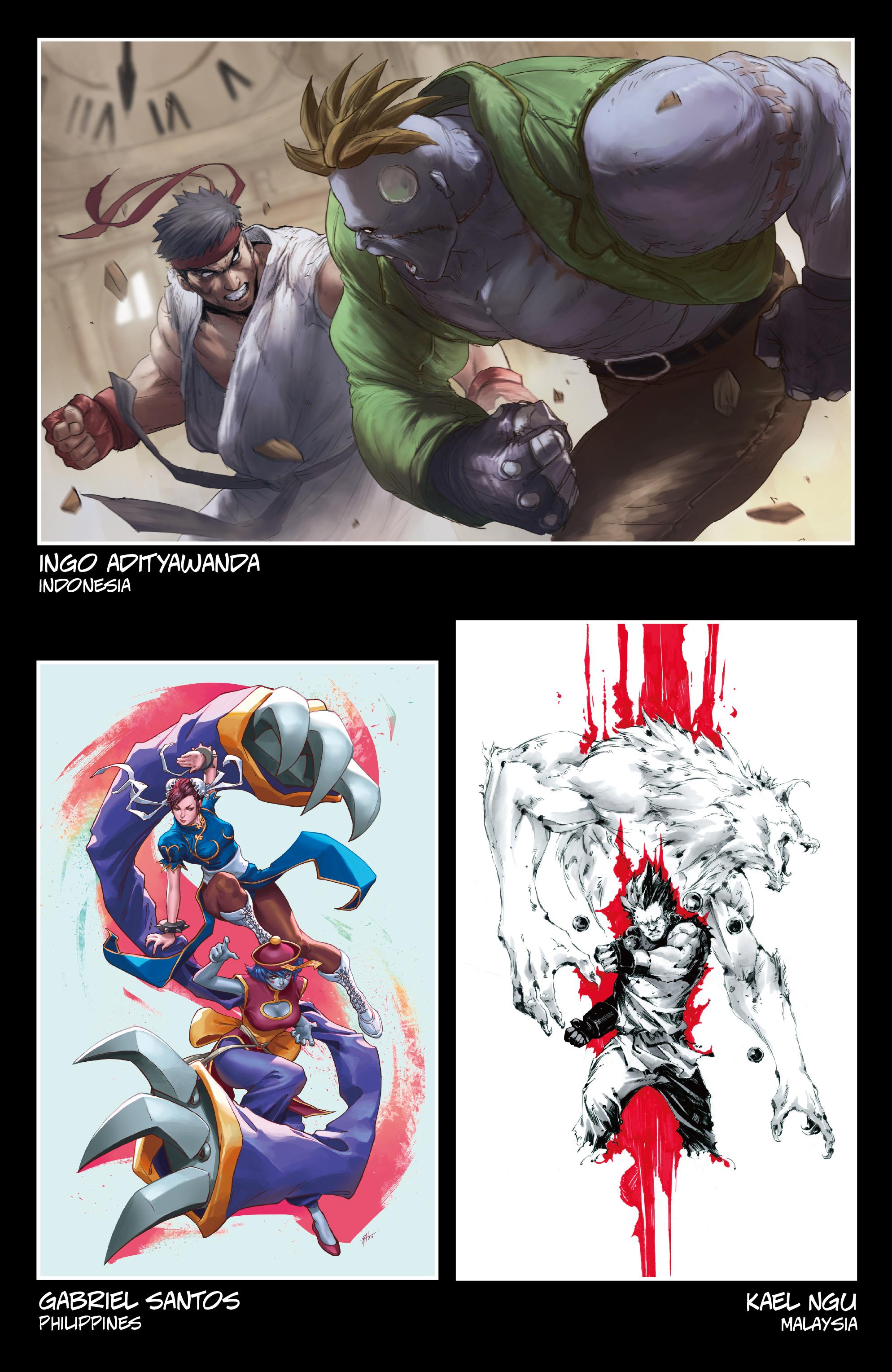 Read online Street Fighter VS Darkstalkers comic -  Issue #2 - 28