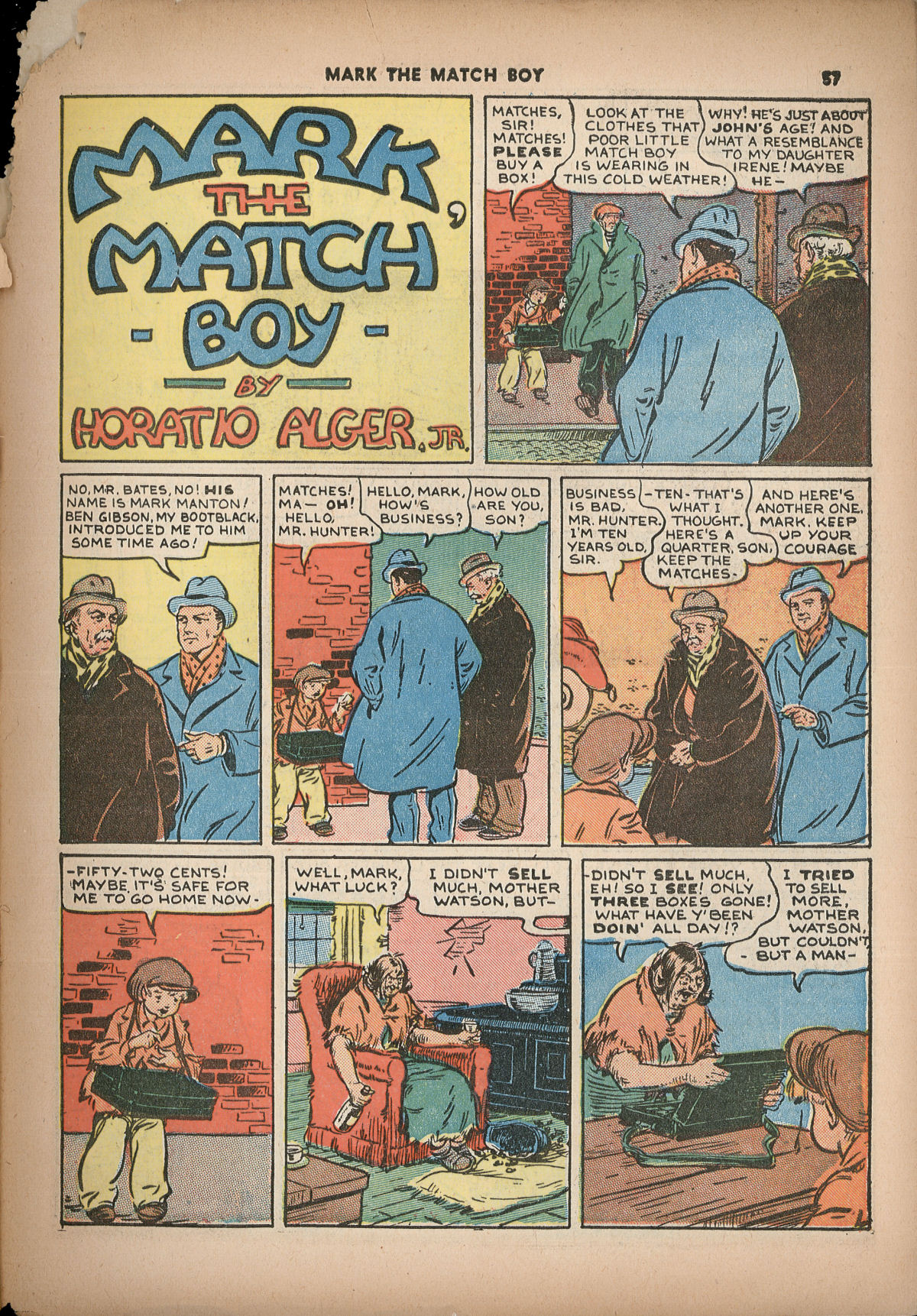 Read online Shadow Comics comic -  Issue #2 - 60