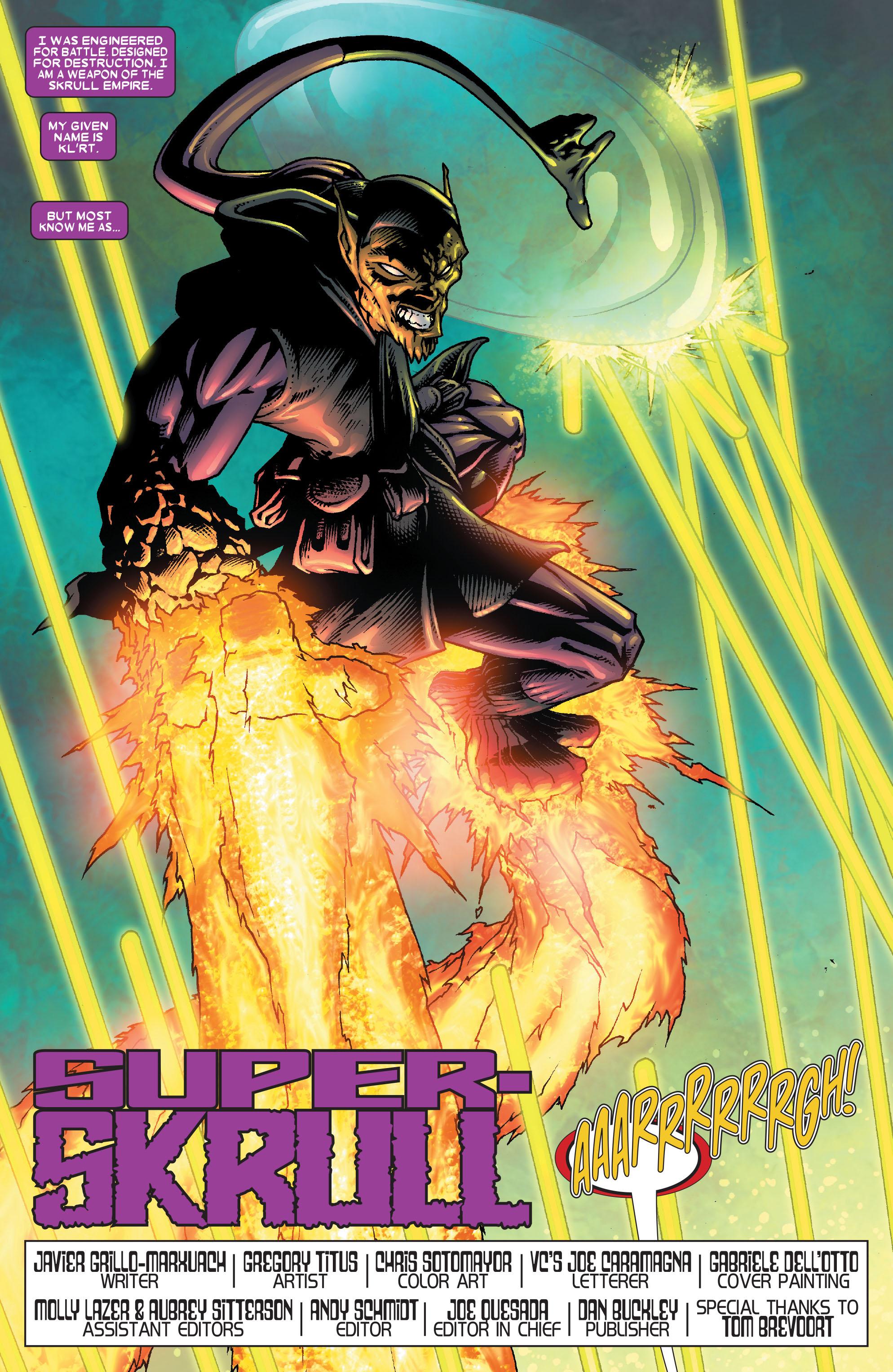 Read online Annihilation: Super-Skrull comic -  Issue #1 - 5