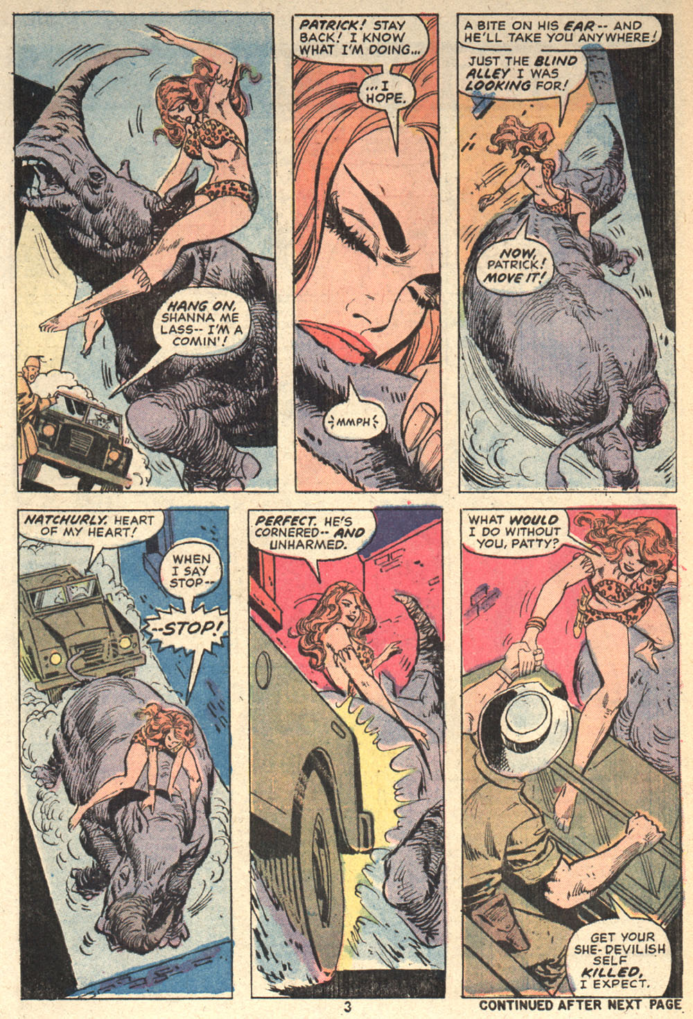 Read online Shanna, the She-Devil (1972) comic -  Issue #4 - 4