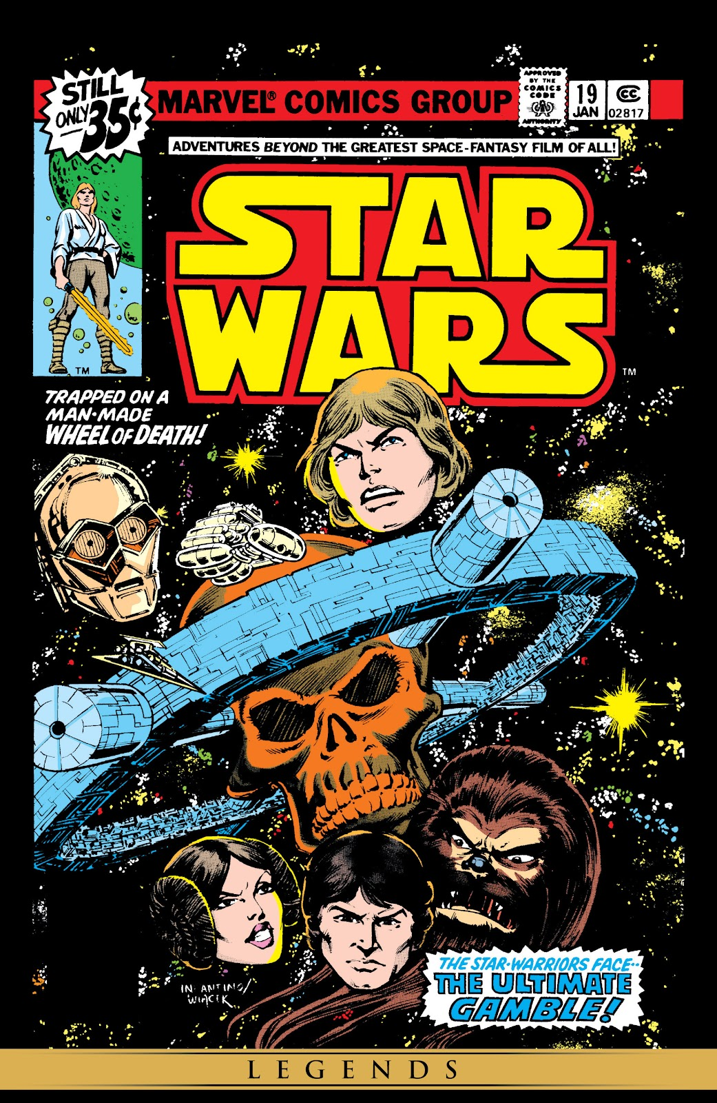 Read online Star Wars Legends: The Original Marvel Years - Epic Collection comic -  Issue # TPB 1 (Part 4) - 33