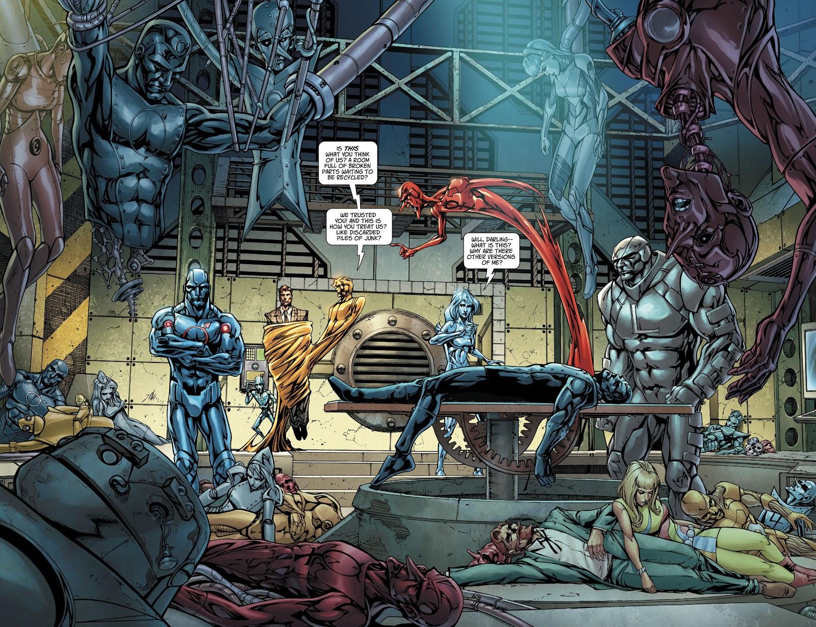 Read online Metal Men (2019) comic -  Issue #1 - 15