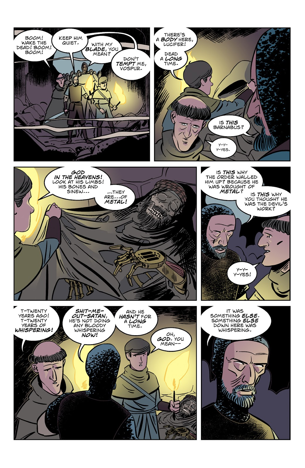 Read online Dark Ages comic -  Issue #3 - 5