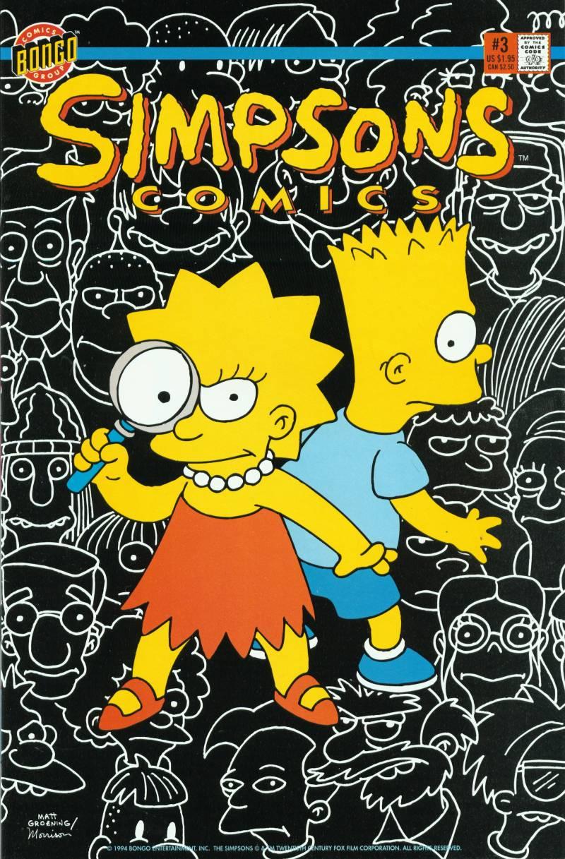 Read online Simpsons Comics comic -  Issue #3 - 1