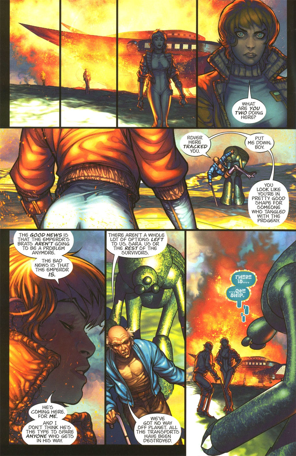 Read online Chimera comic -  Issue #4 - 11