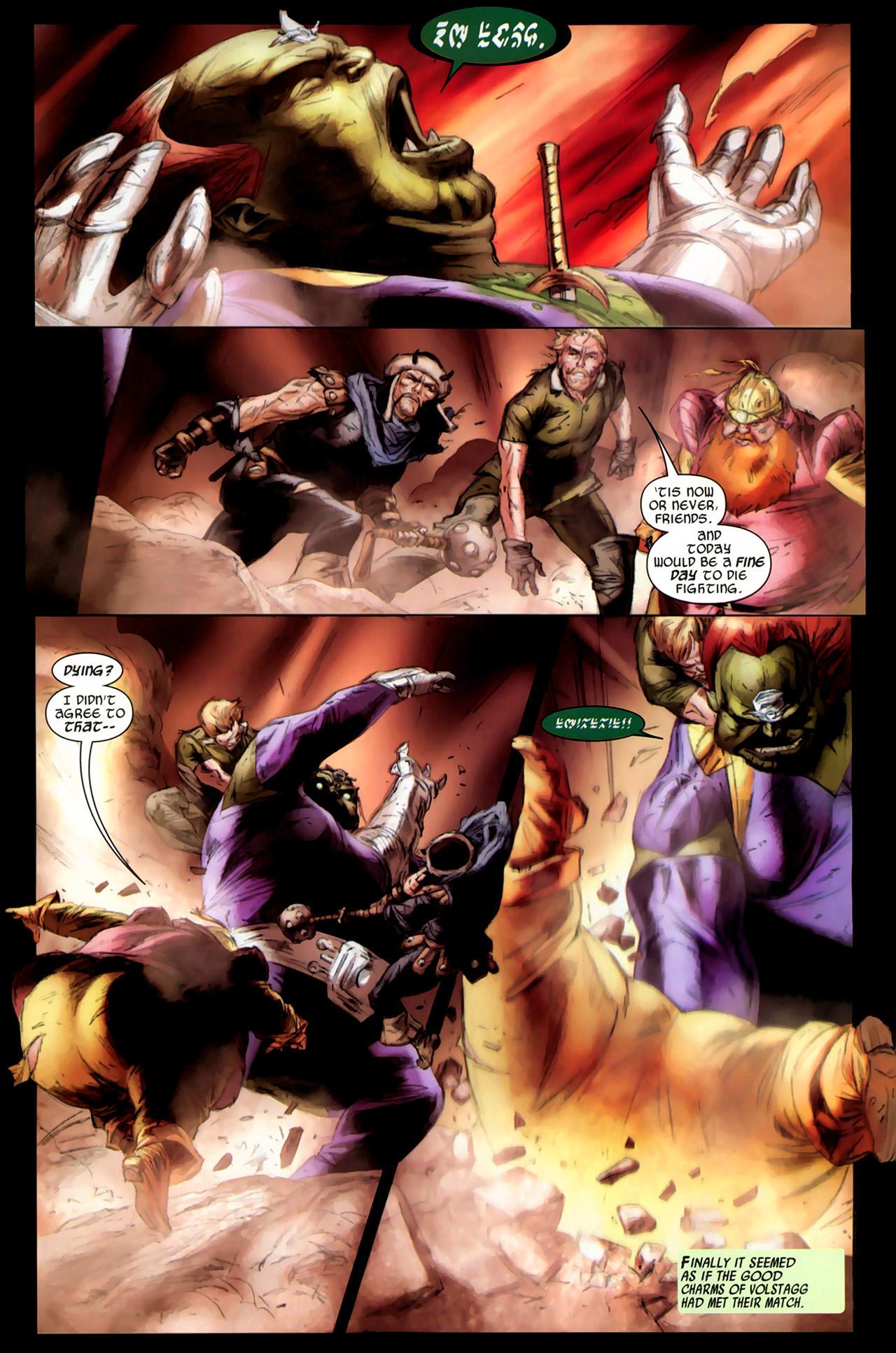 Read online Secret Invasion: Thor comic -  Issue #3 - 15