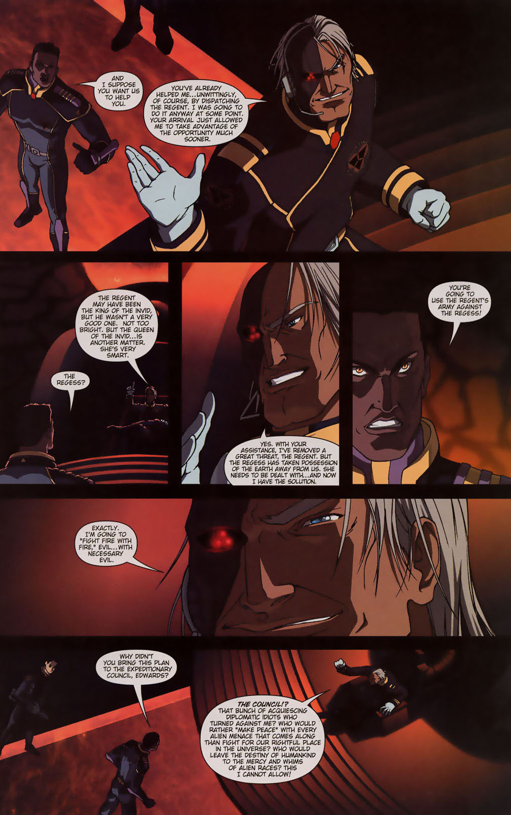 Read online Robotech: Prelude to the Shadow Chronicles comic -  Issue #3 - 16