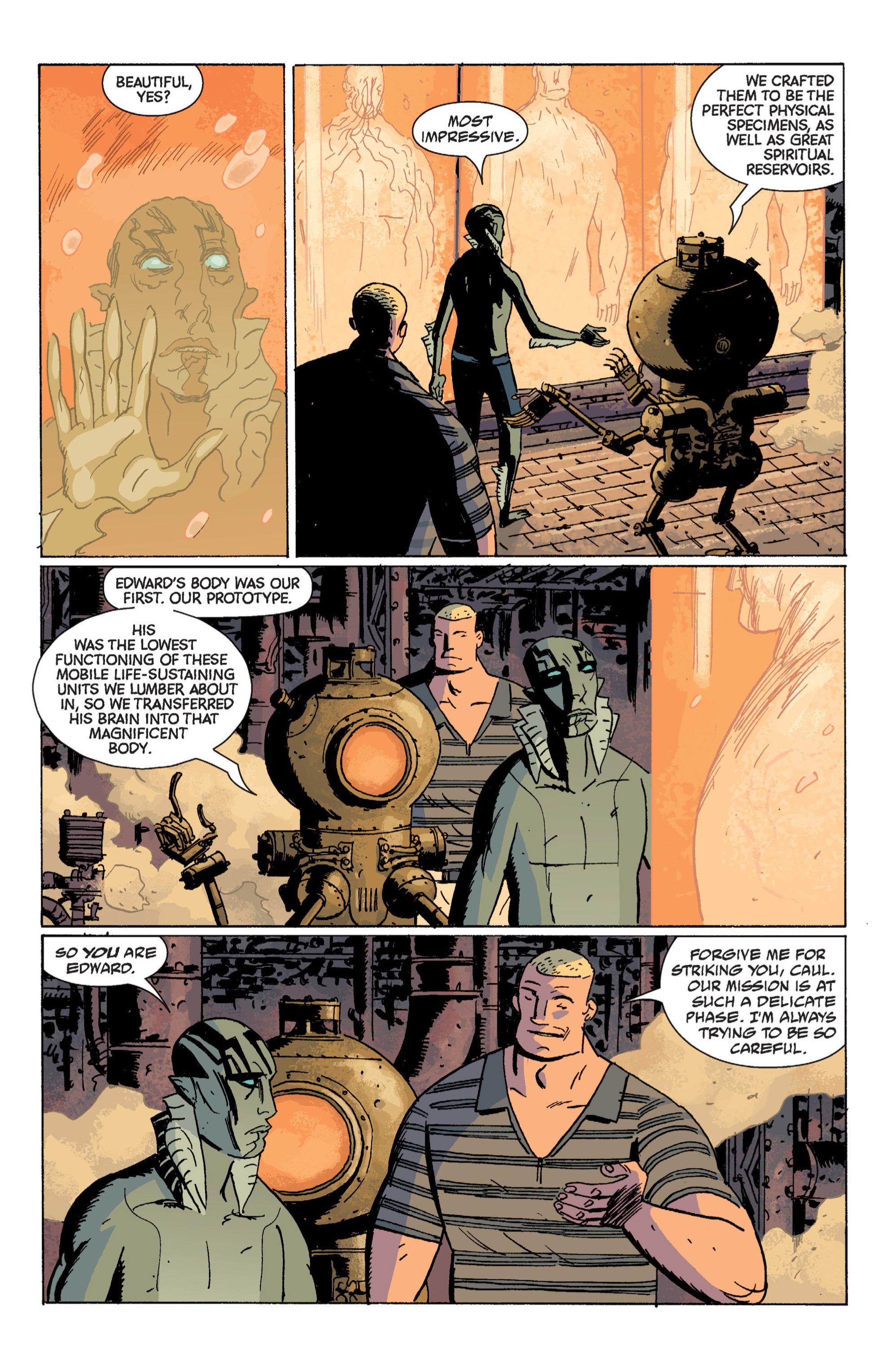 Read online B.P.R.D. (2003) comic -  Issue # TPB 7 - 97