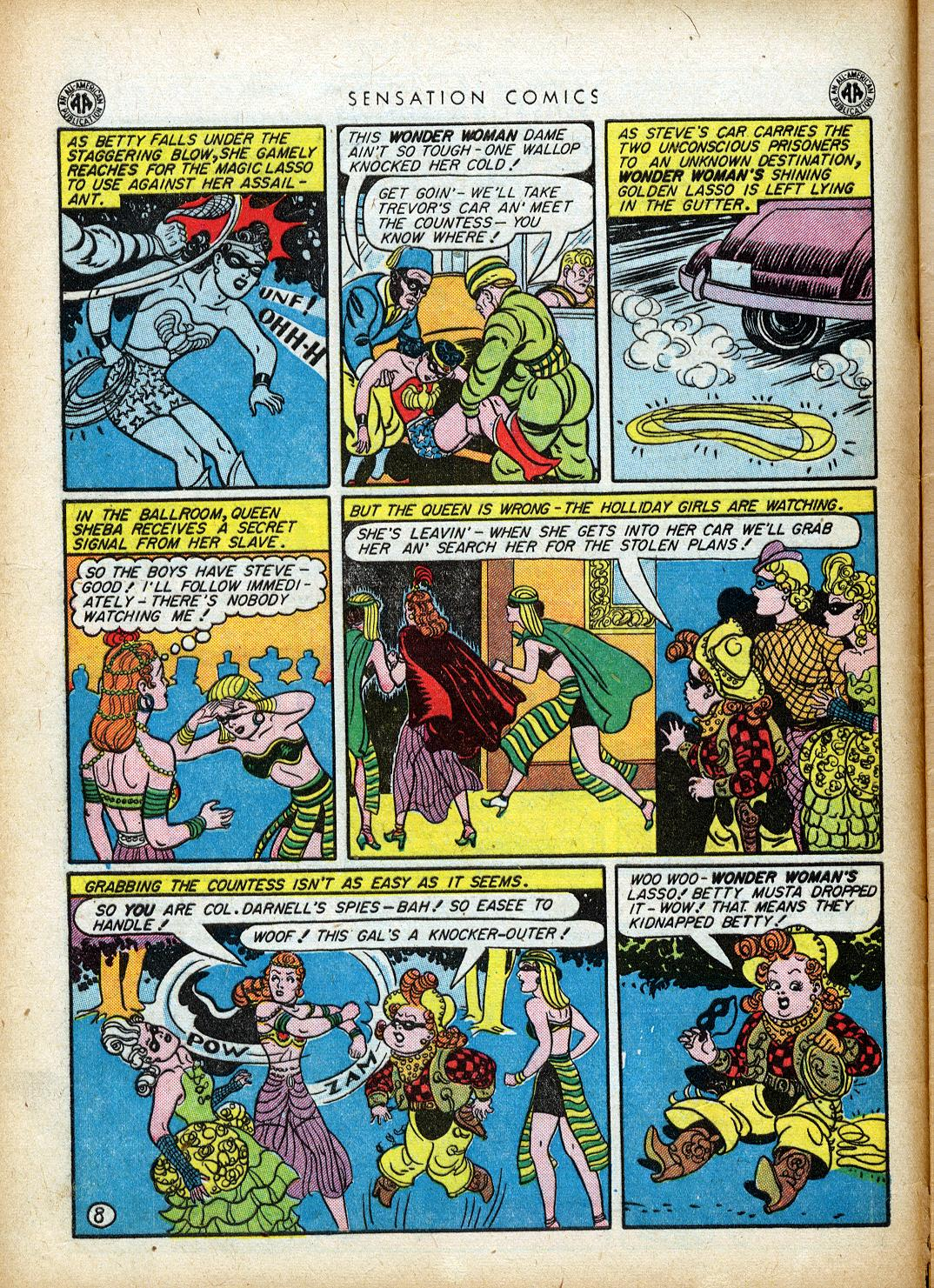 Read online Sensation (Mystery) Comics comic -  Issue #40 - 10
