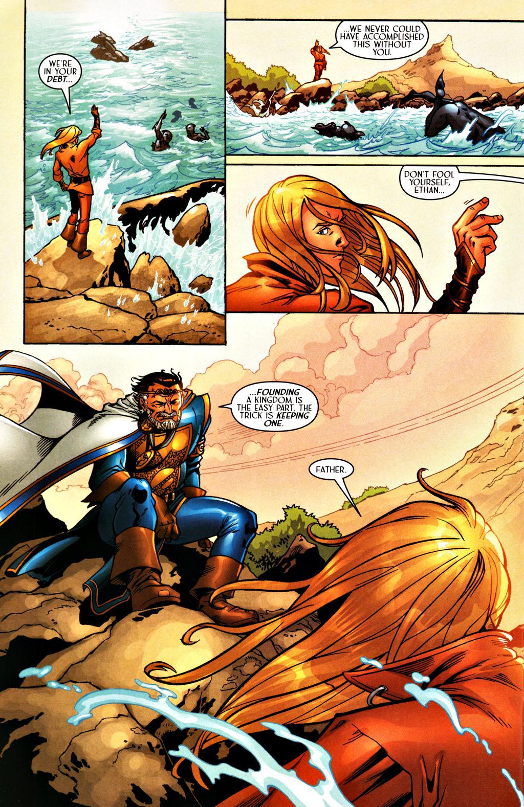 Read online Scion comic -  Issue #27 - 7