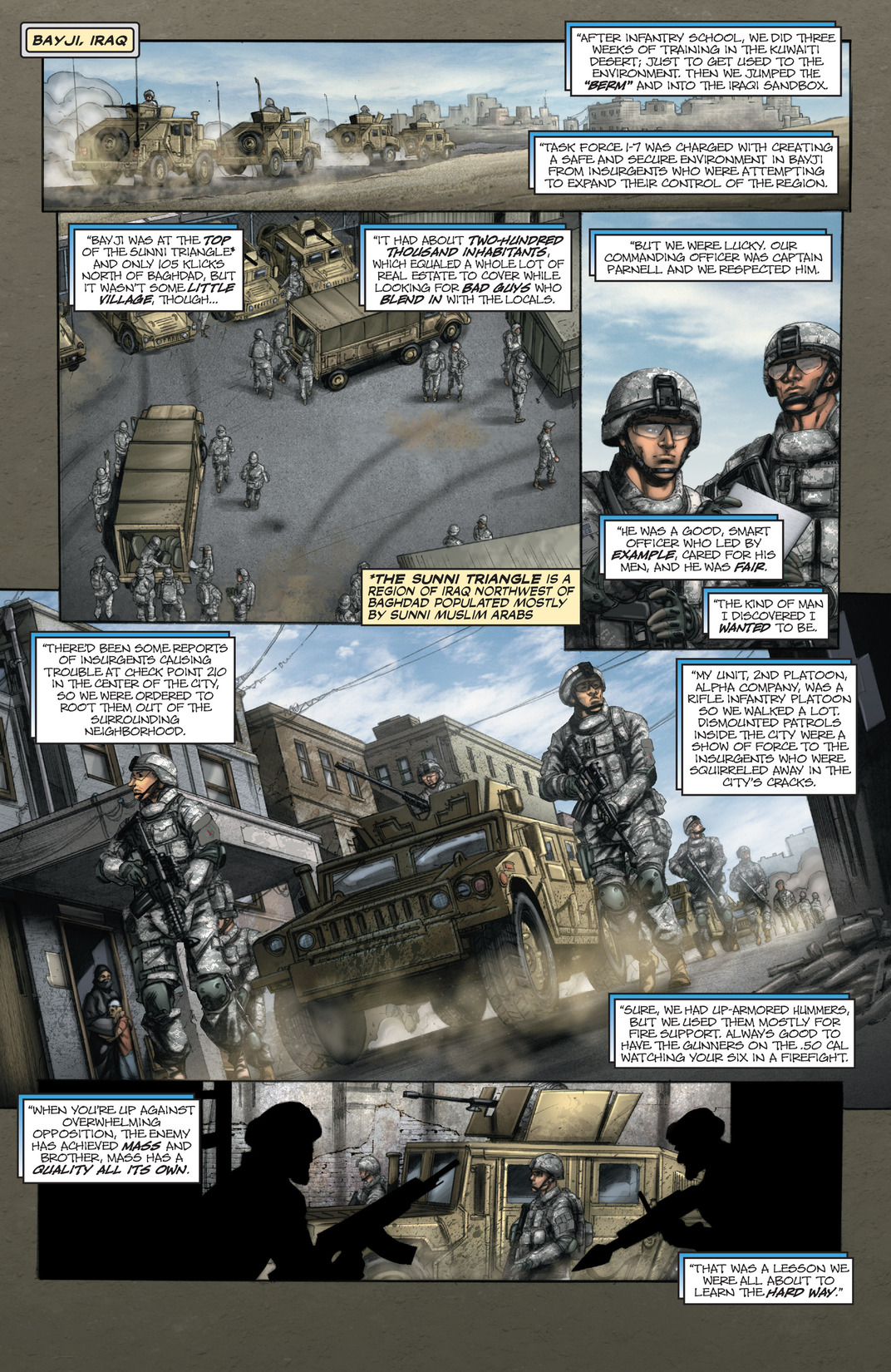 Read online America's Army comic -  Issue #13 - 11