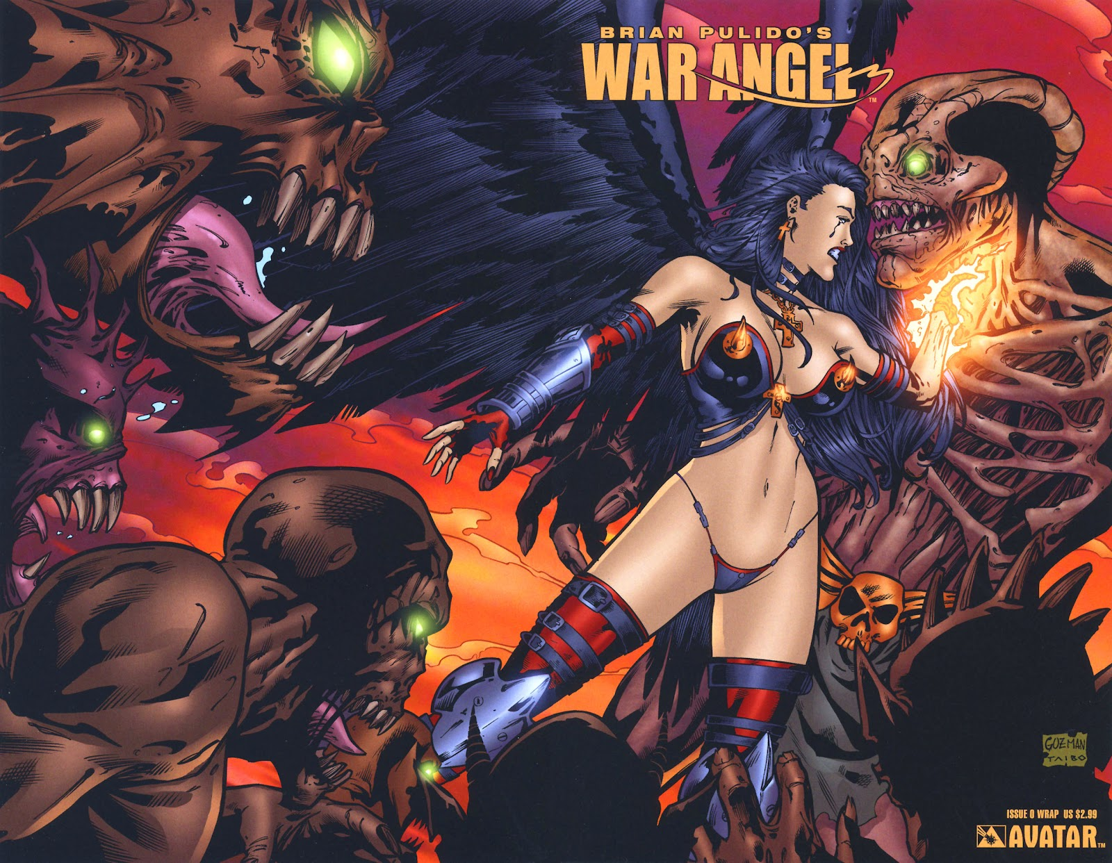 Read online Brian Pulido's War Angel comic -  Issue #0 - 10