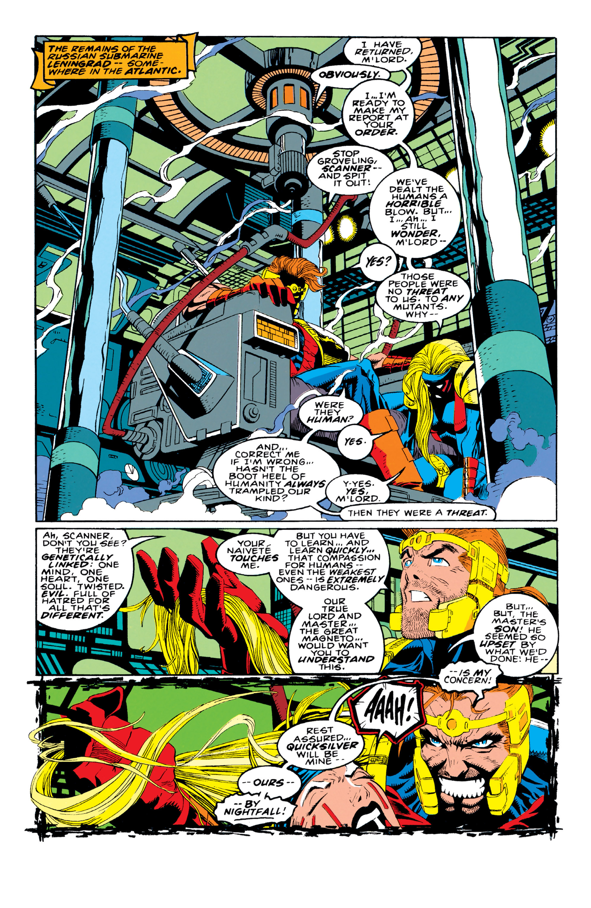 Read online X-Factor (1986) comic -  Issue #92 - 8