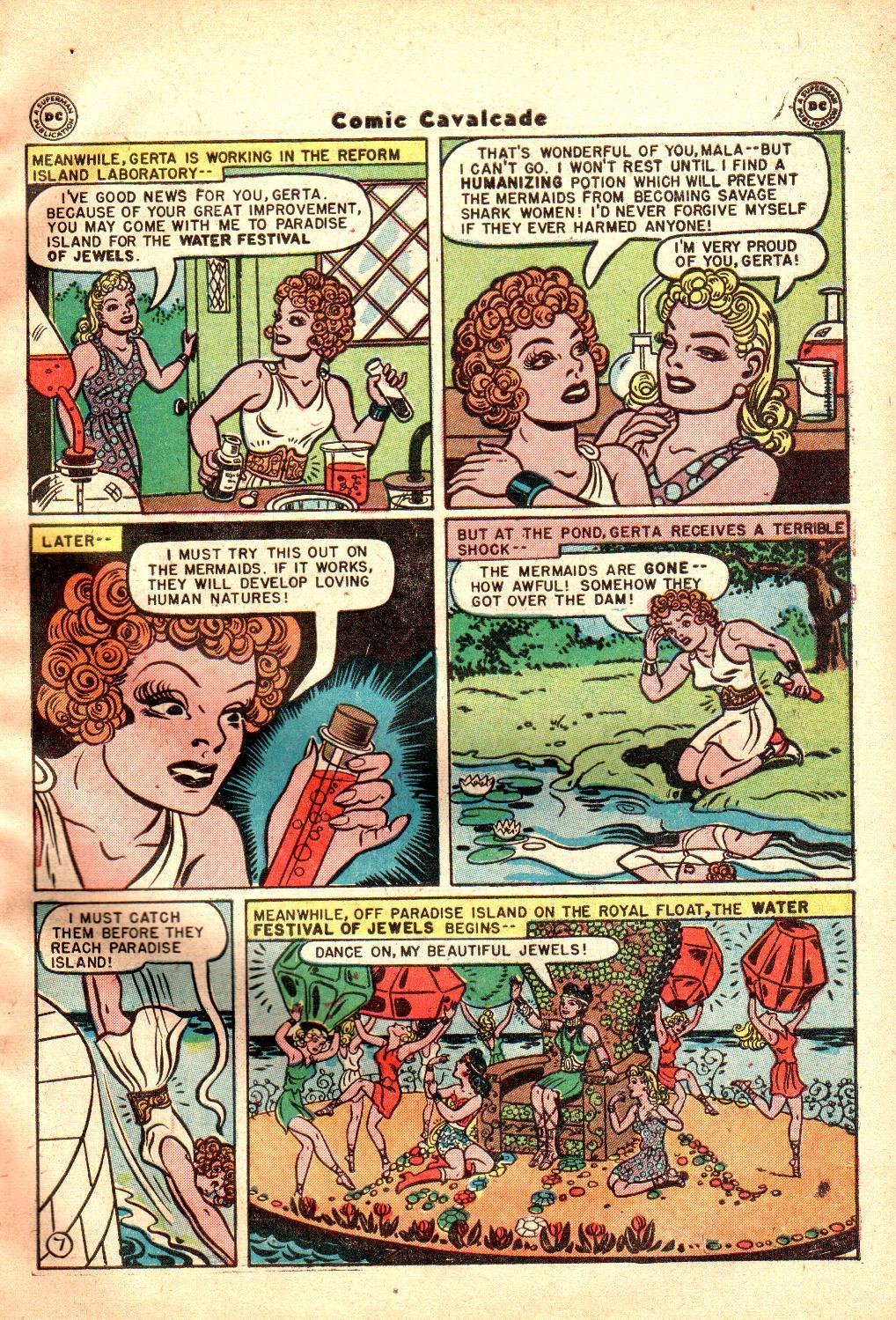 Comic Cavalcade issue 21 - Page 9