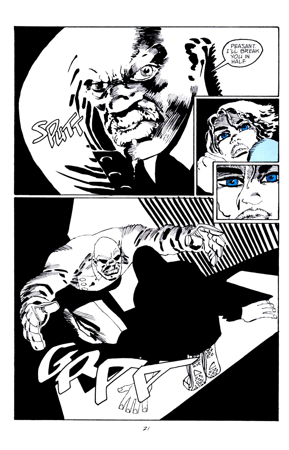 Read online Sin City: Hell and Back comic -  Issue #4 - 22