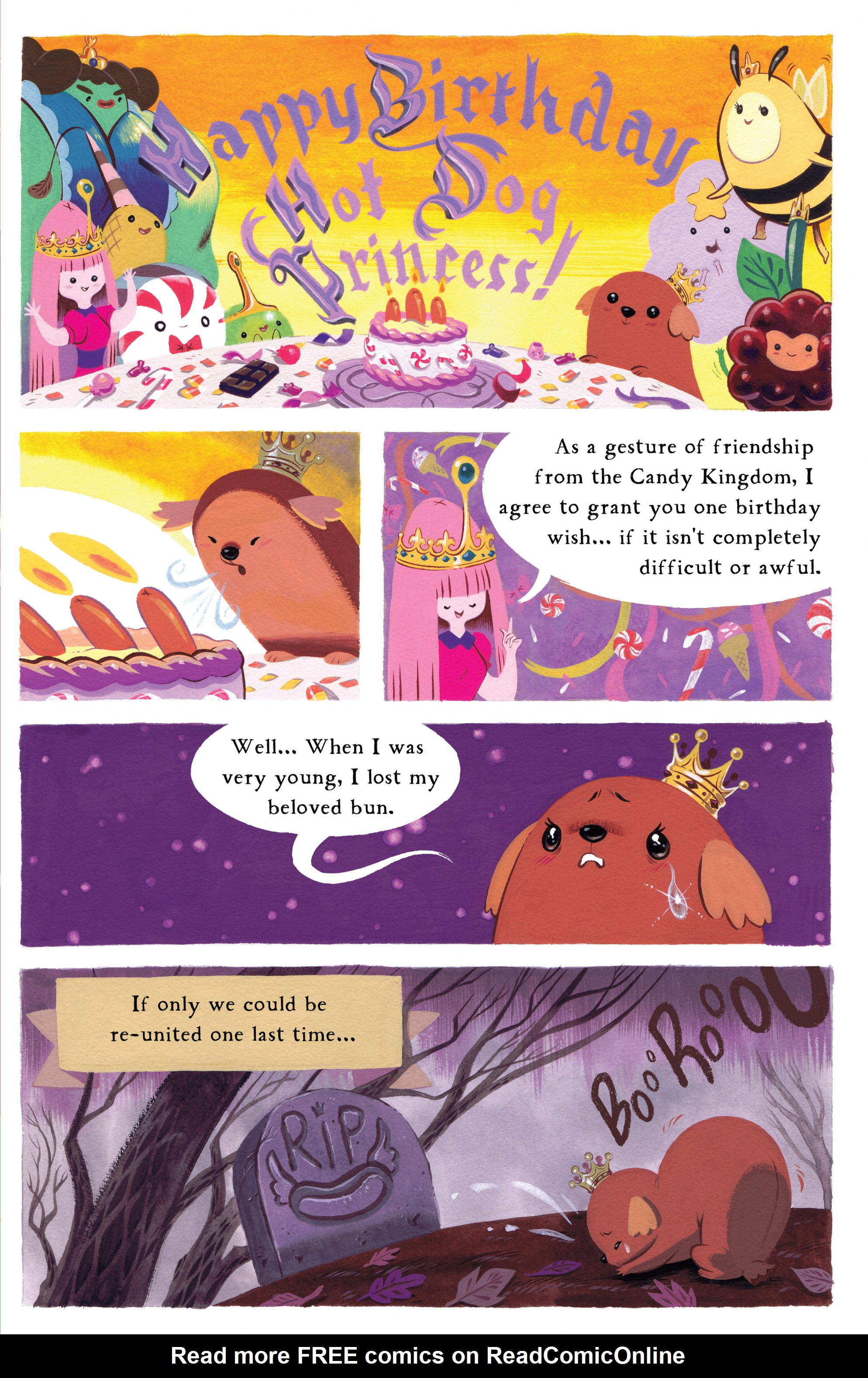 Read online Adventure Time comic -  Issue #8 - 22