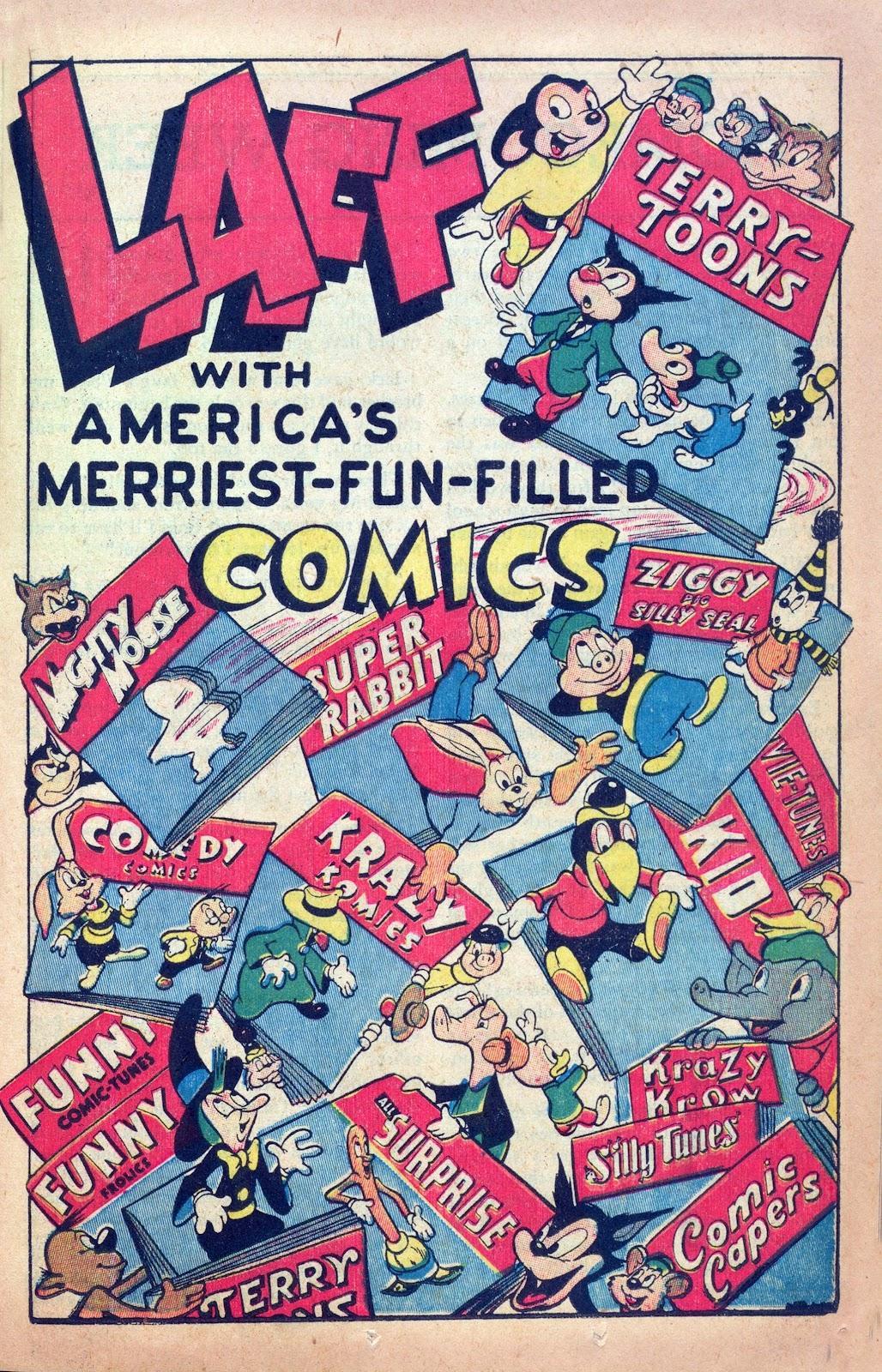 Read online Joker Comics comic -  Issue #25 - 29