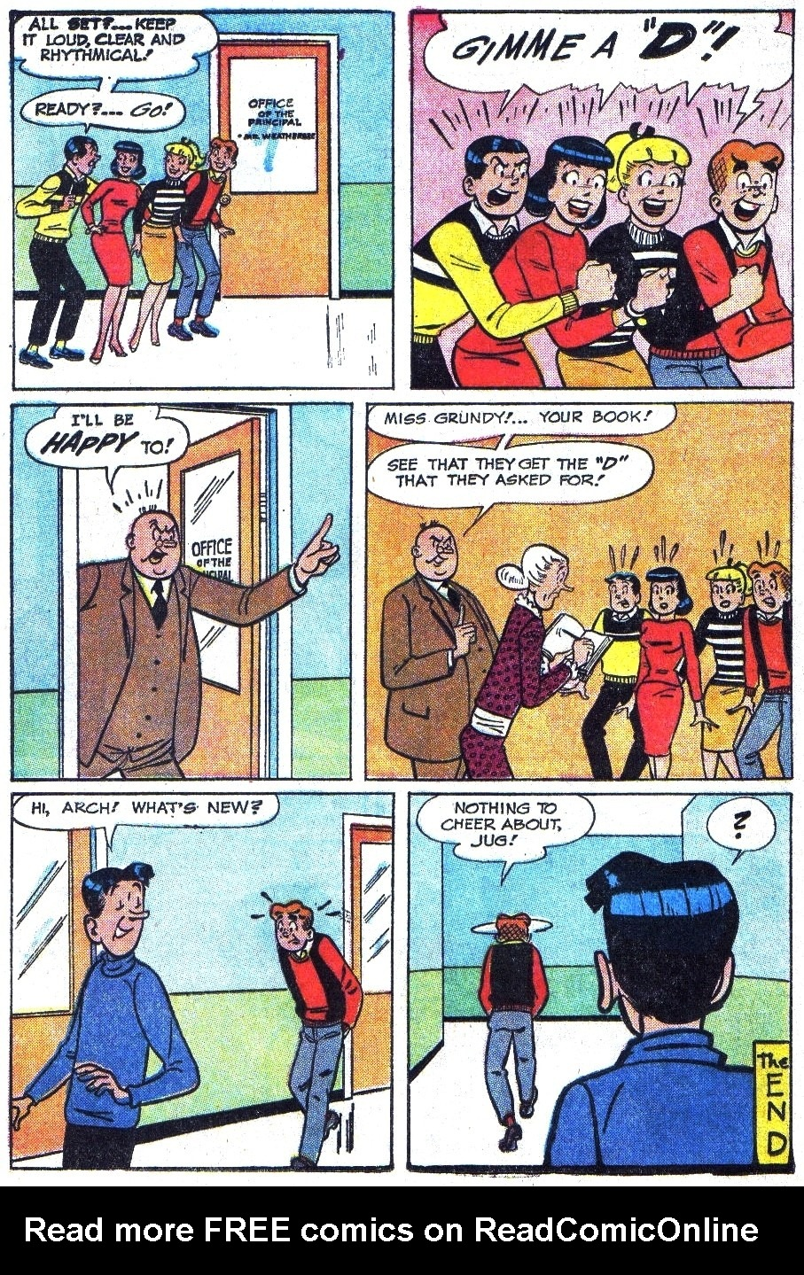 Read online Archie (1960) comic -  Issue #144 - 8
