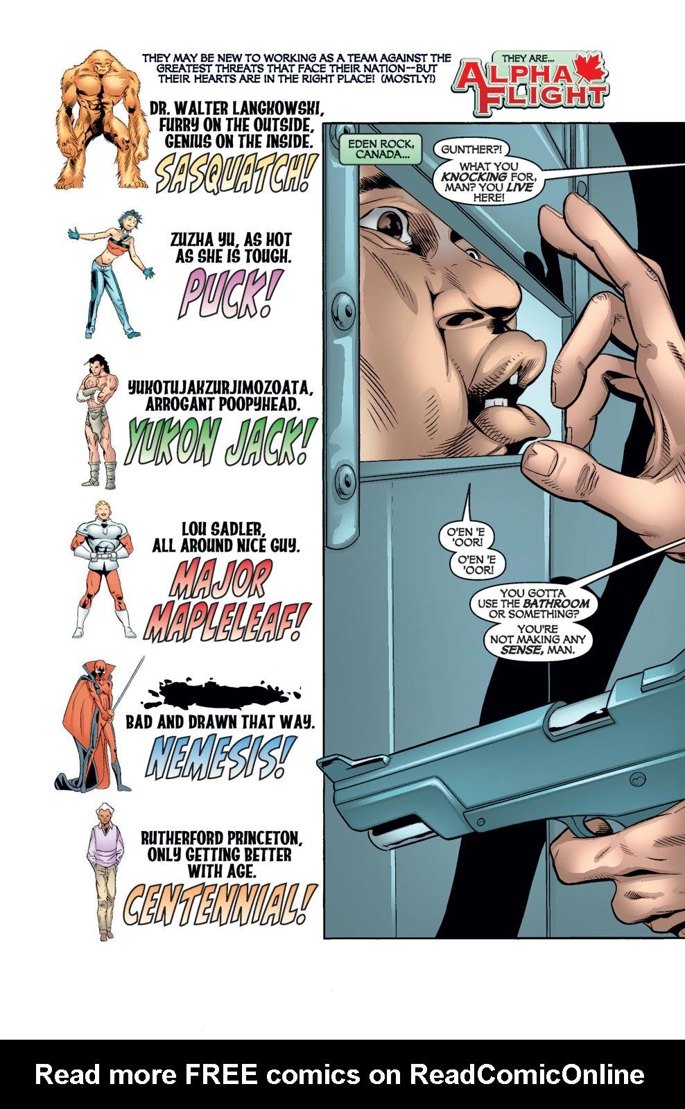 Read online Alpha Flight (2004) comic -  Issue #8 - 3