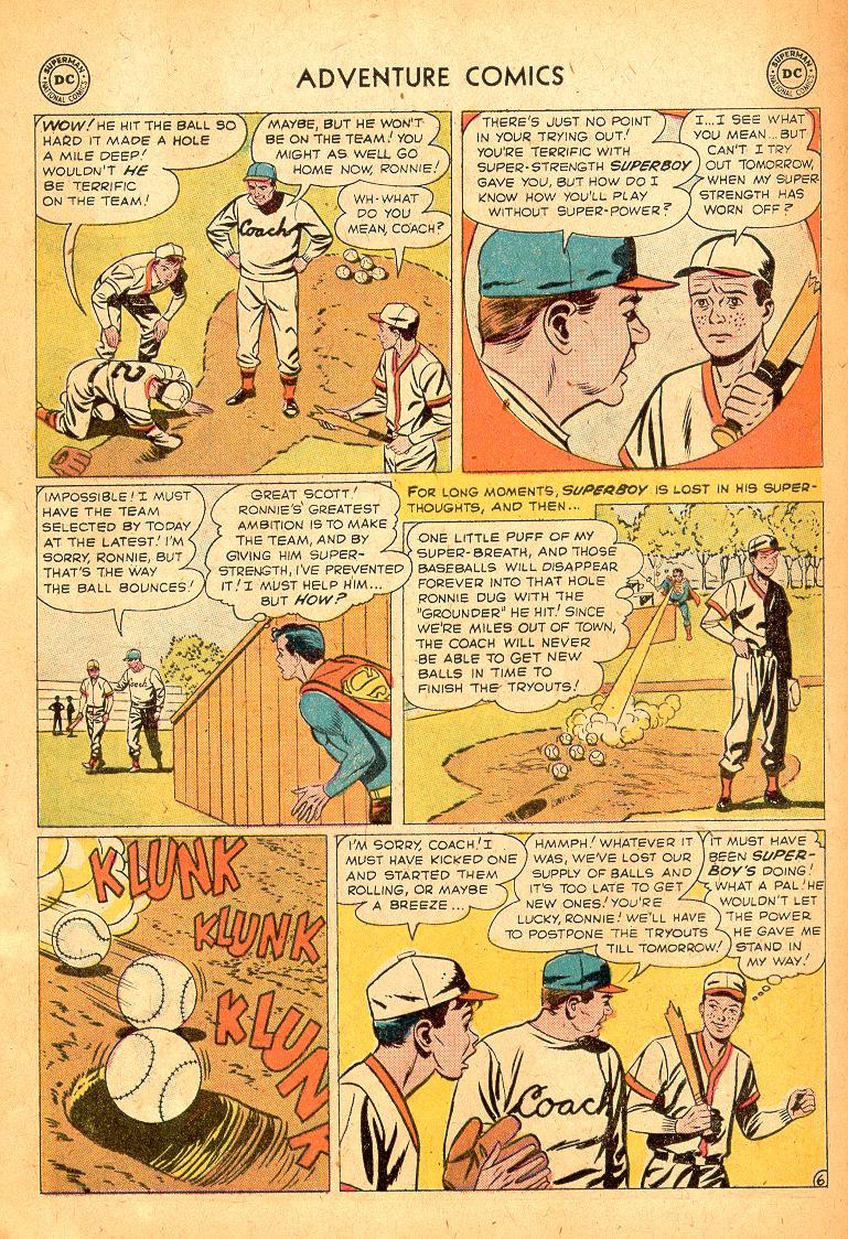 Read online Adventure Comics (1938) comic -  Issue #254 - 8