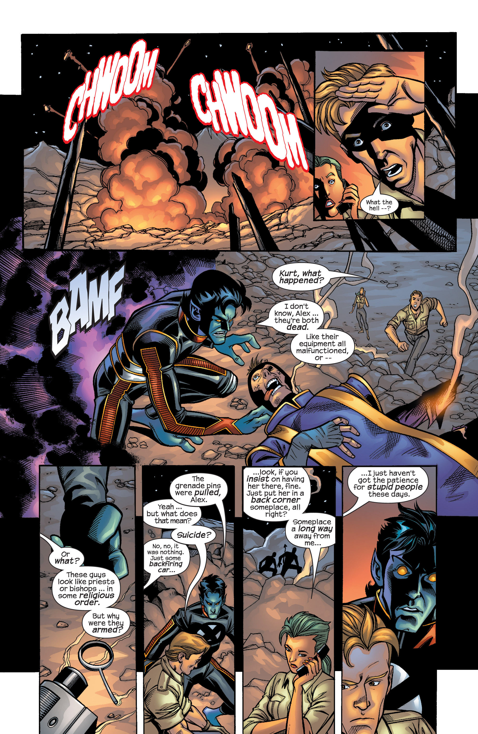 Read online Uncanny X-Men (1963) comic -  Issue #422 - 7