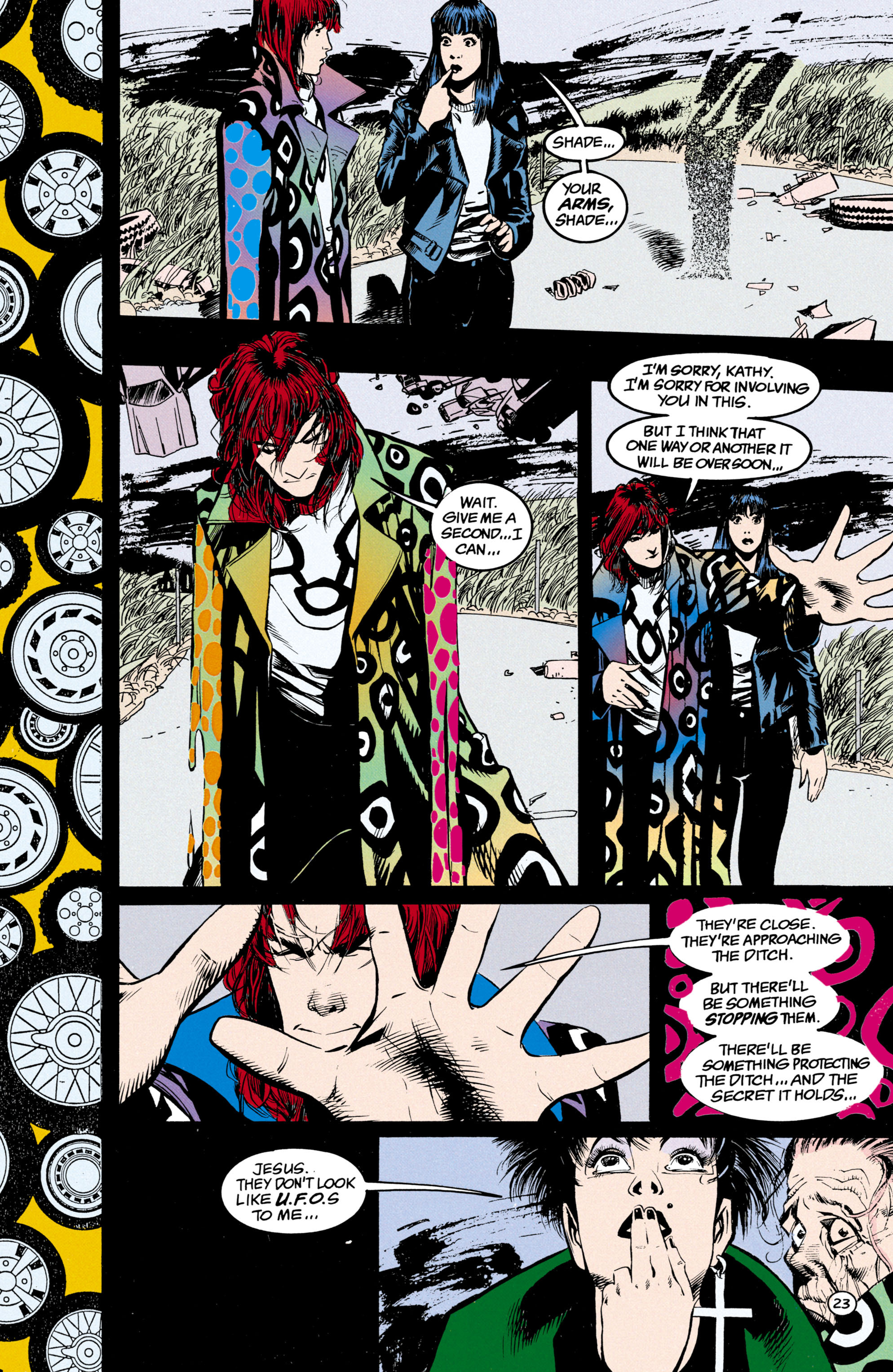 Read online Shade, the Changing Man comic -  Issue #24 - 24