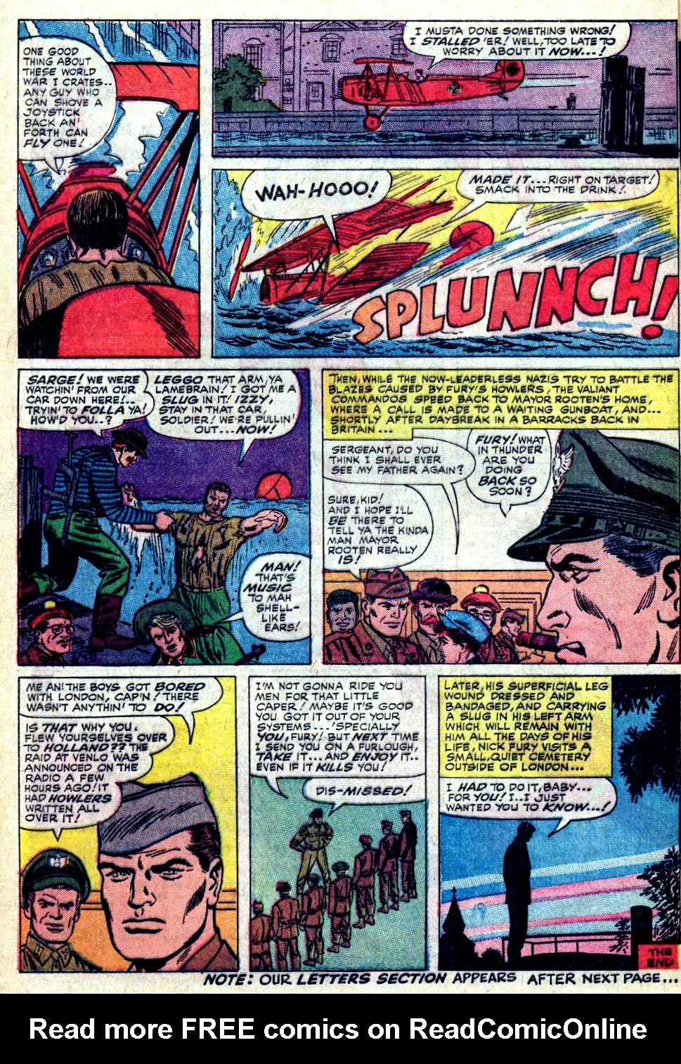 Read online Sgt. Fury comic -  Issue #19 - 28