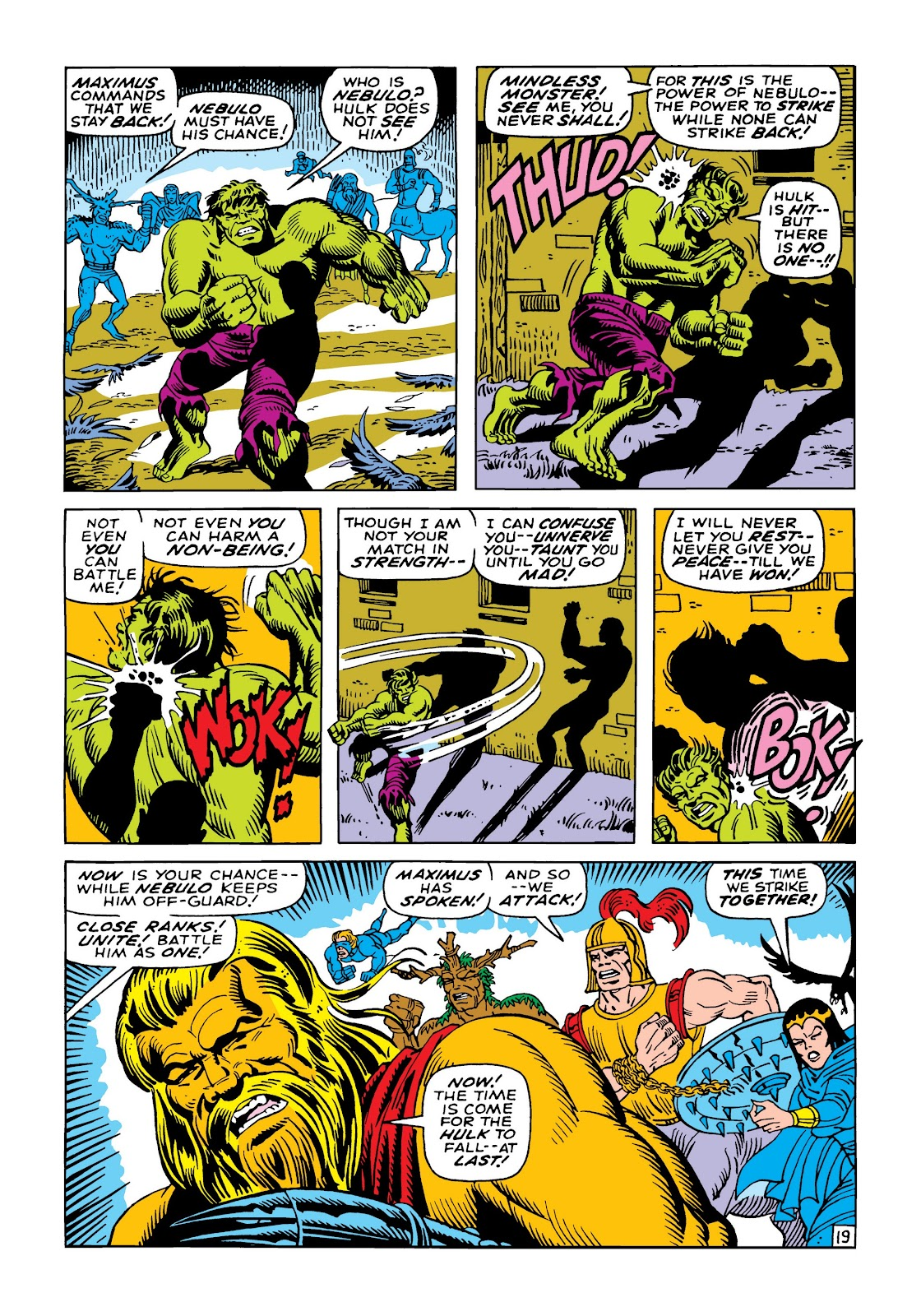 Read online Marvel Masterworks: The Incredible Hulk comic -  Issue # TPB 5 (Part 2) - 93