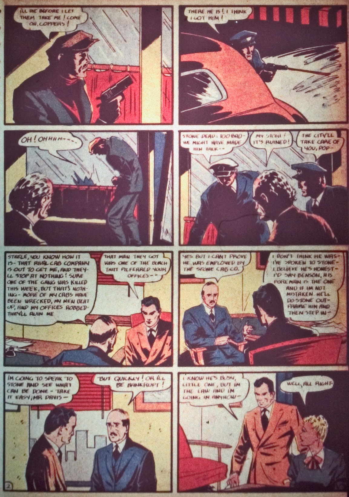 Read online Detective Comics (1937) comic -  Issue #26 - 37