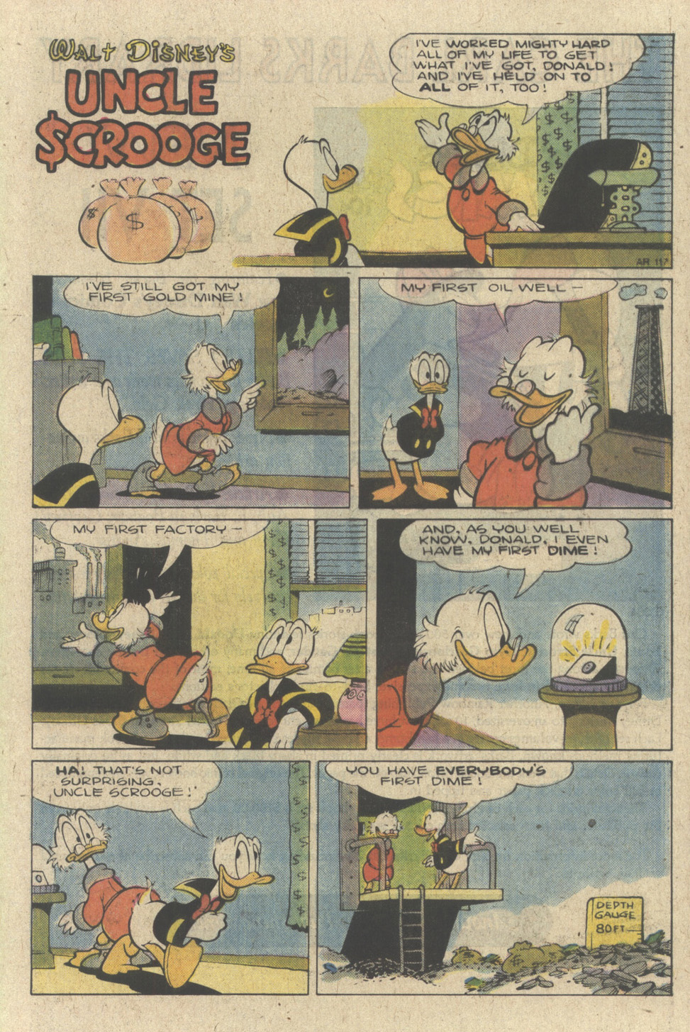 Read online Uncle Scrooge (1953) comic -  Issue #227 - 25