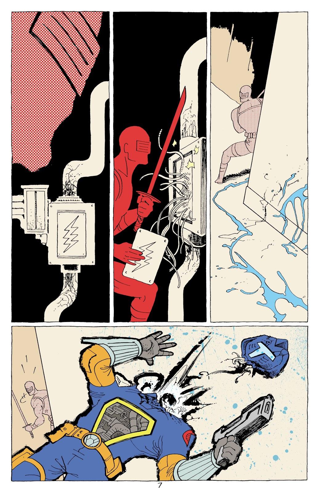 Read online G.I. Joe: Sierra Muerte comic -  Issue #3 - 9