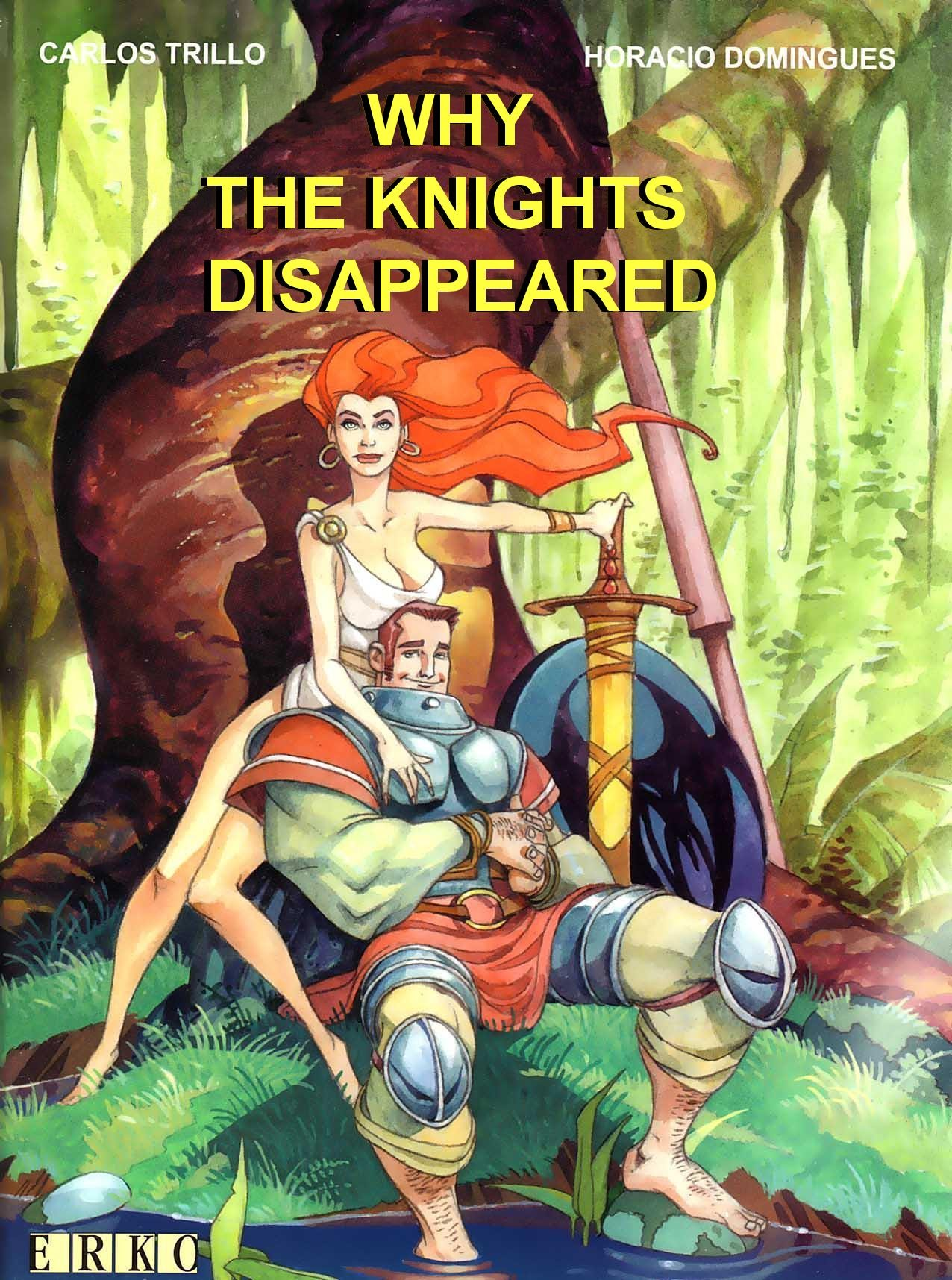 Why the Knights Disappeared Full Page 1