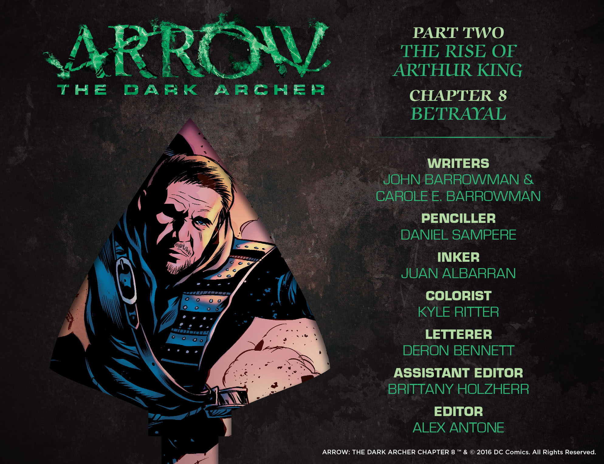 Read online Arrow: The Dark Archer comic -  Issue #8 - 2