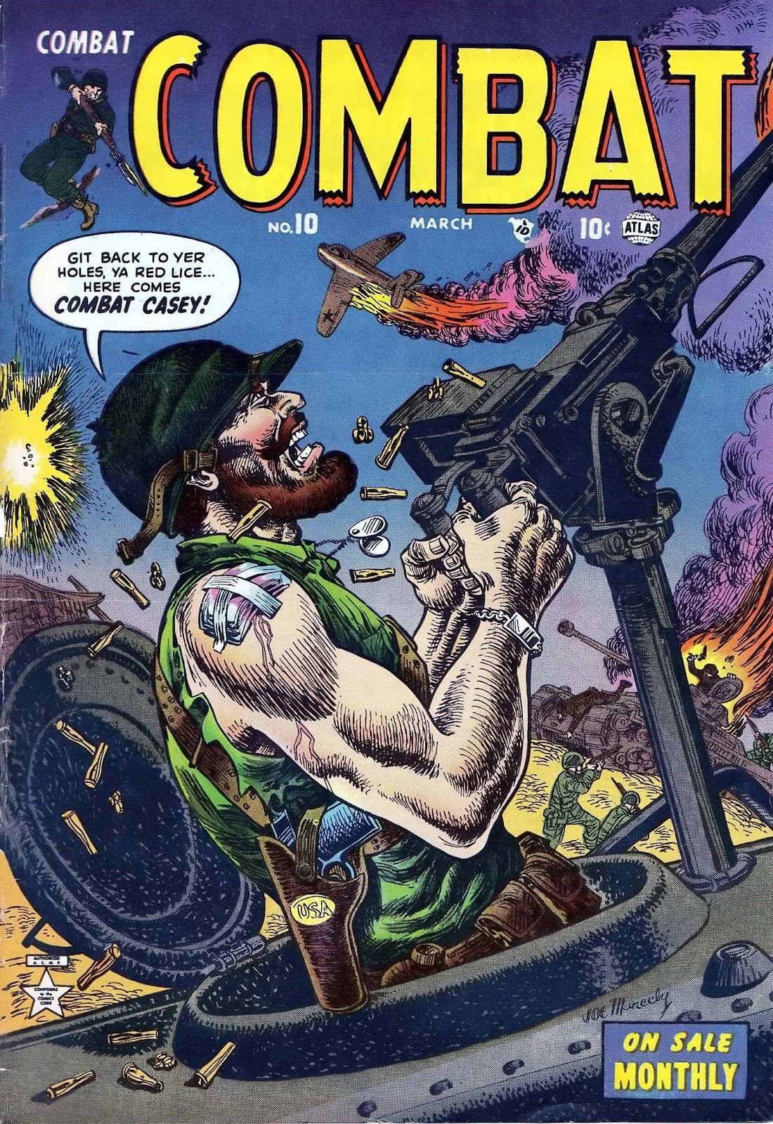 Combat (1952) issue 10 - Page 1
