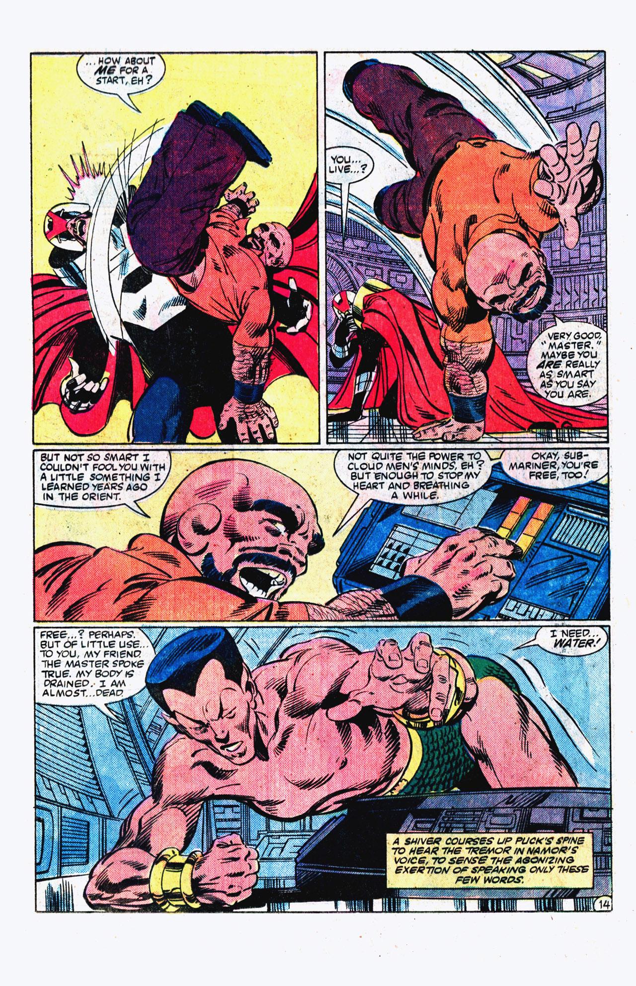 Read online Alpha Flight (1983) comic -  Issue #16 - 15