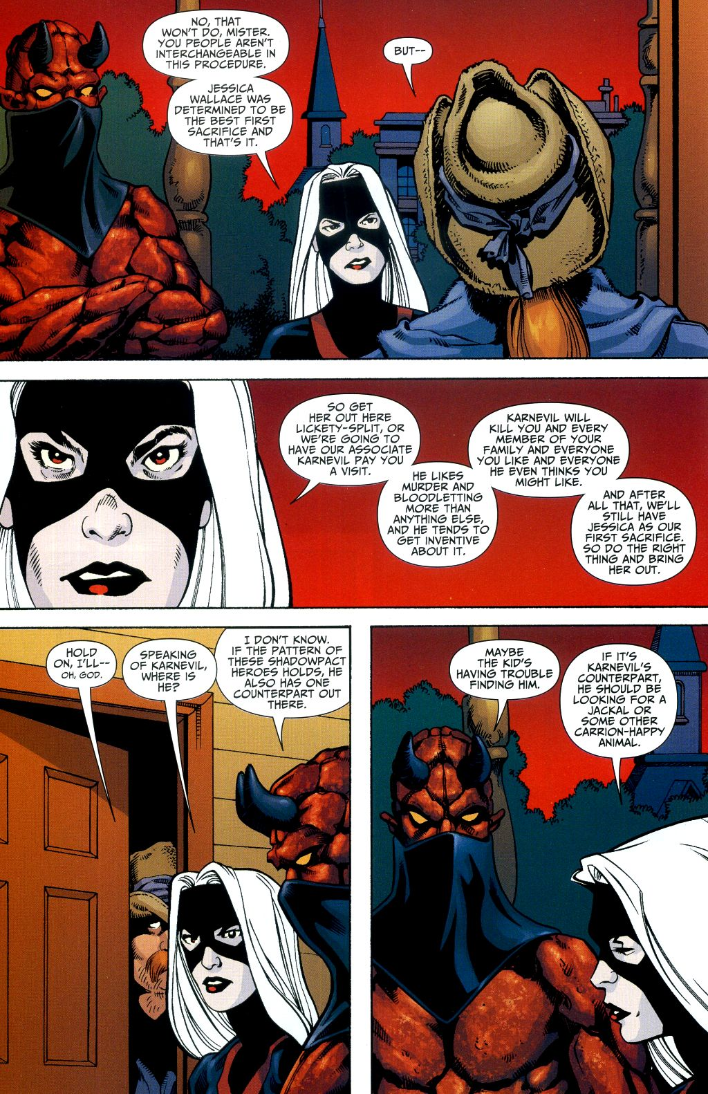 Read online Shadowpact comic -  Issue #2 - 21