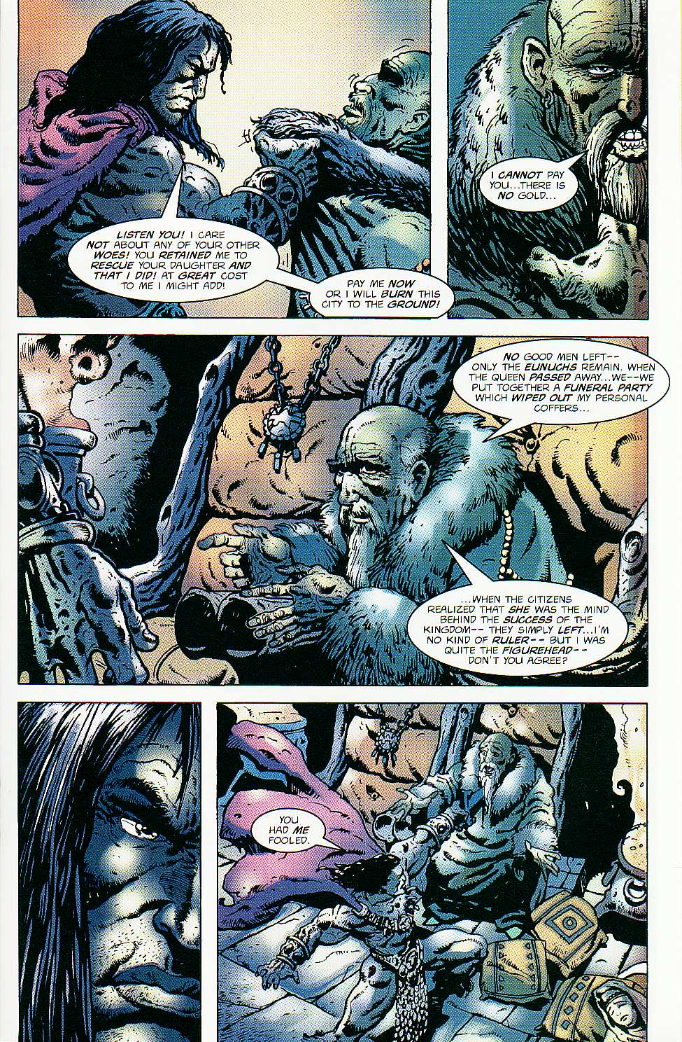 Read online Conan: Return of Styrm comic -  Issue #2 - 17
