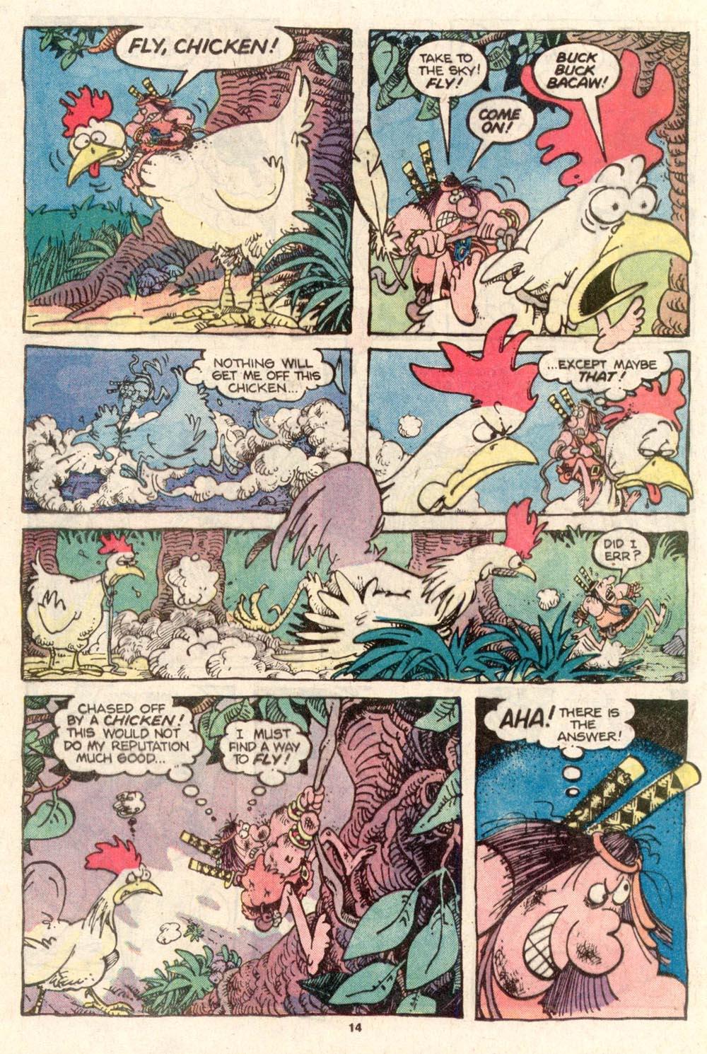Read online Sergio Aragonés Groo the Wanderer comic -  Issue #26 - 15