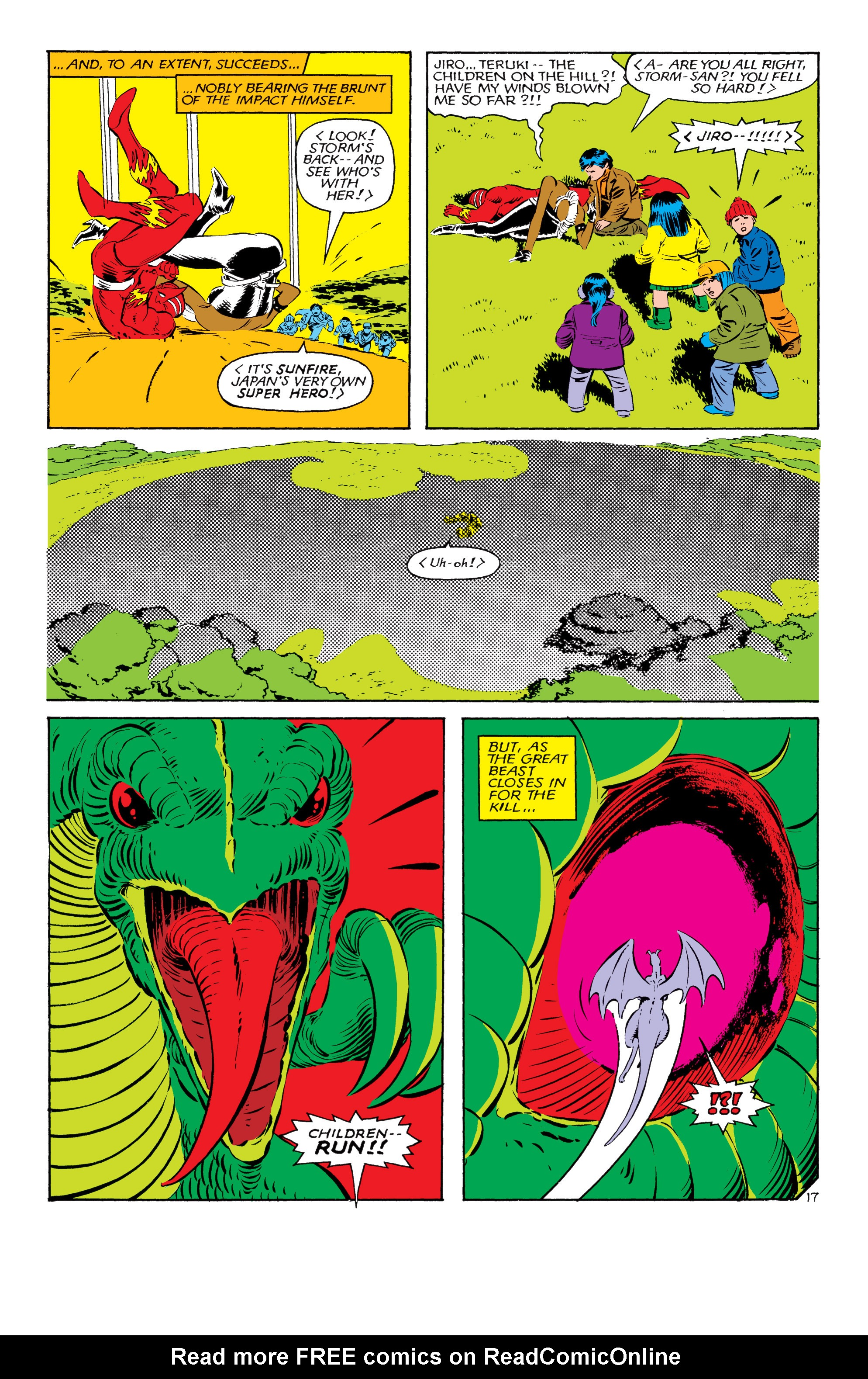 Read online Uncanny X-Men (1963) comic -  Issue #181 - 17