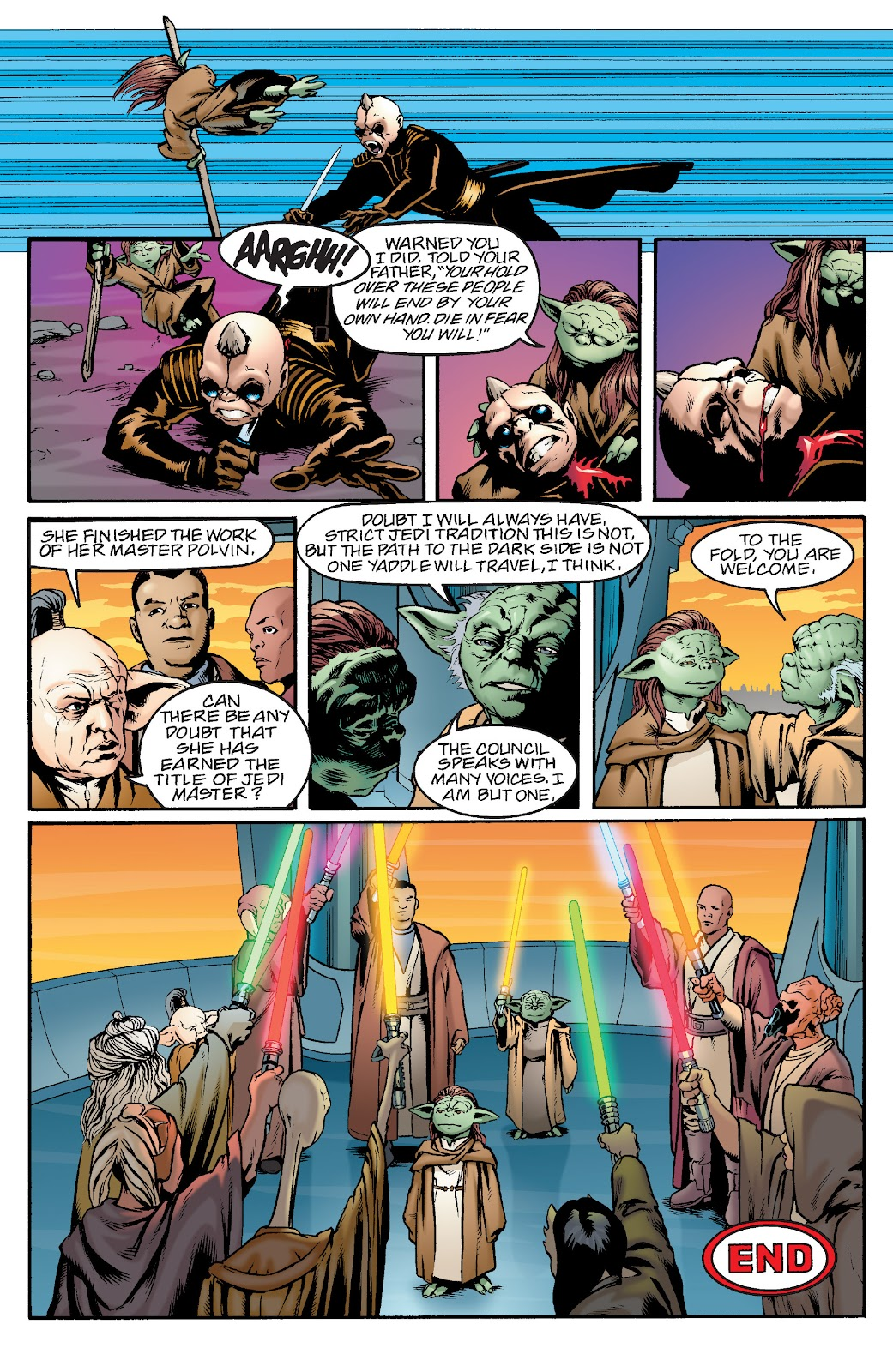 Read online Star Wars Legends: Rise of the Sith - Epic Collection comic -  Issue # TPB 1 (Part 1) - 62